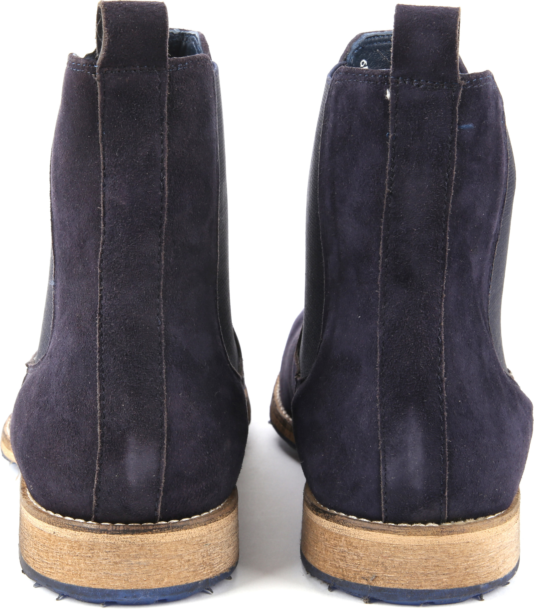 Suede Boots Chelsea Navy foto 3