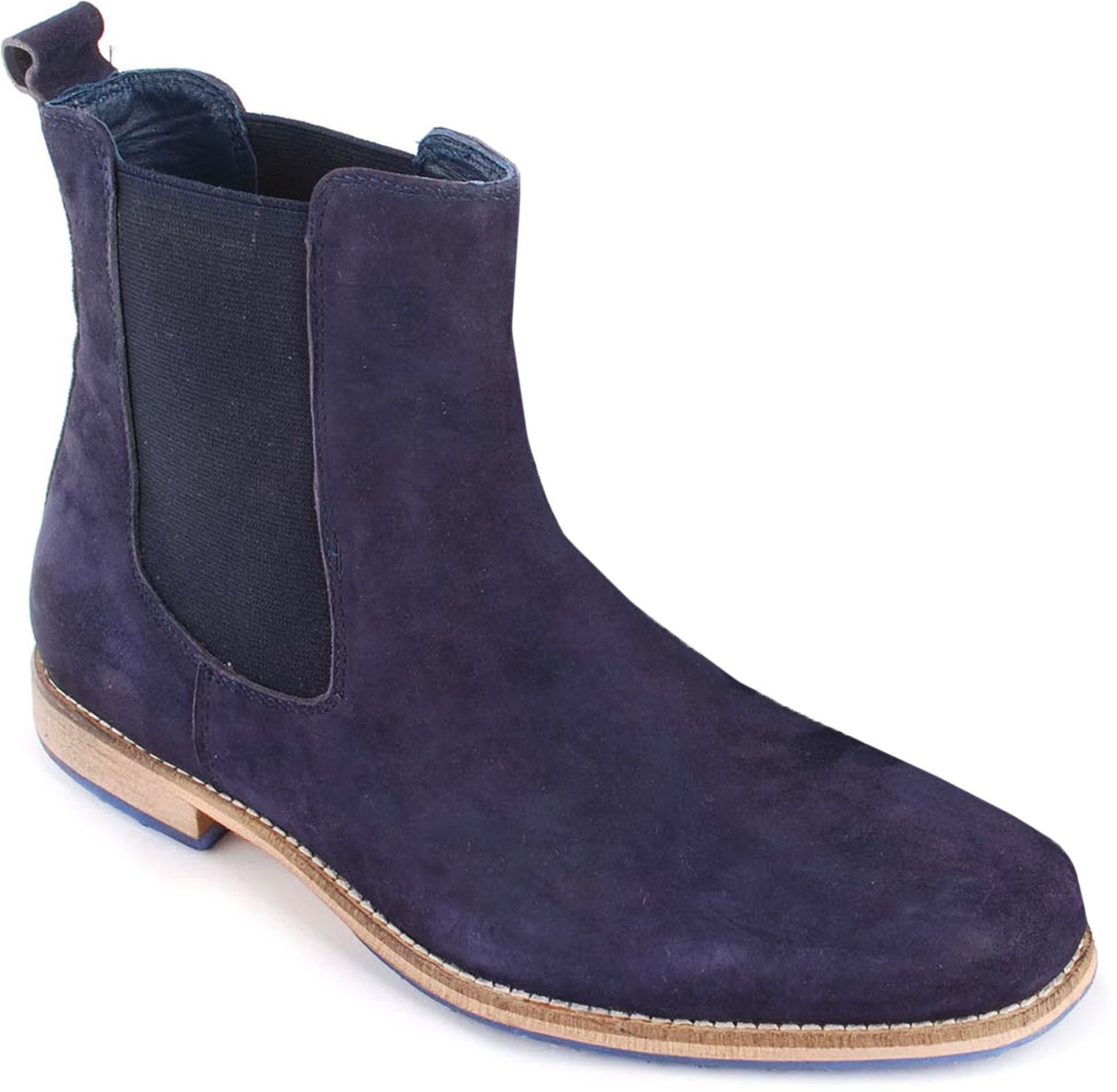 Suede Boots Chelsea Navy foto 0