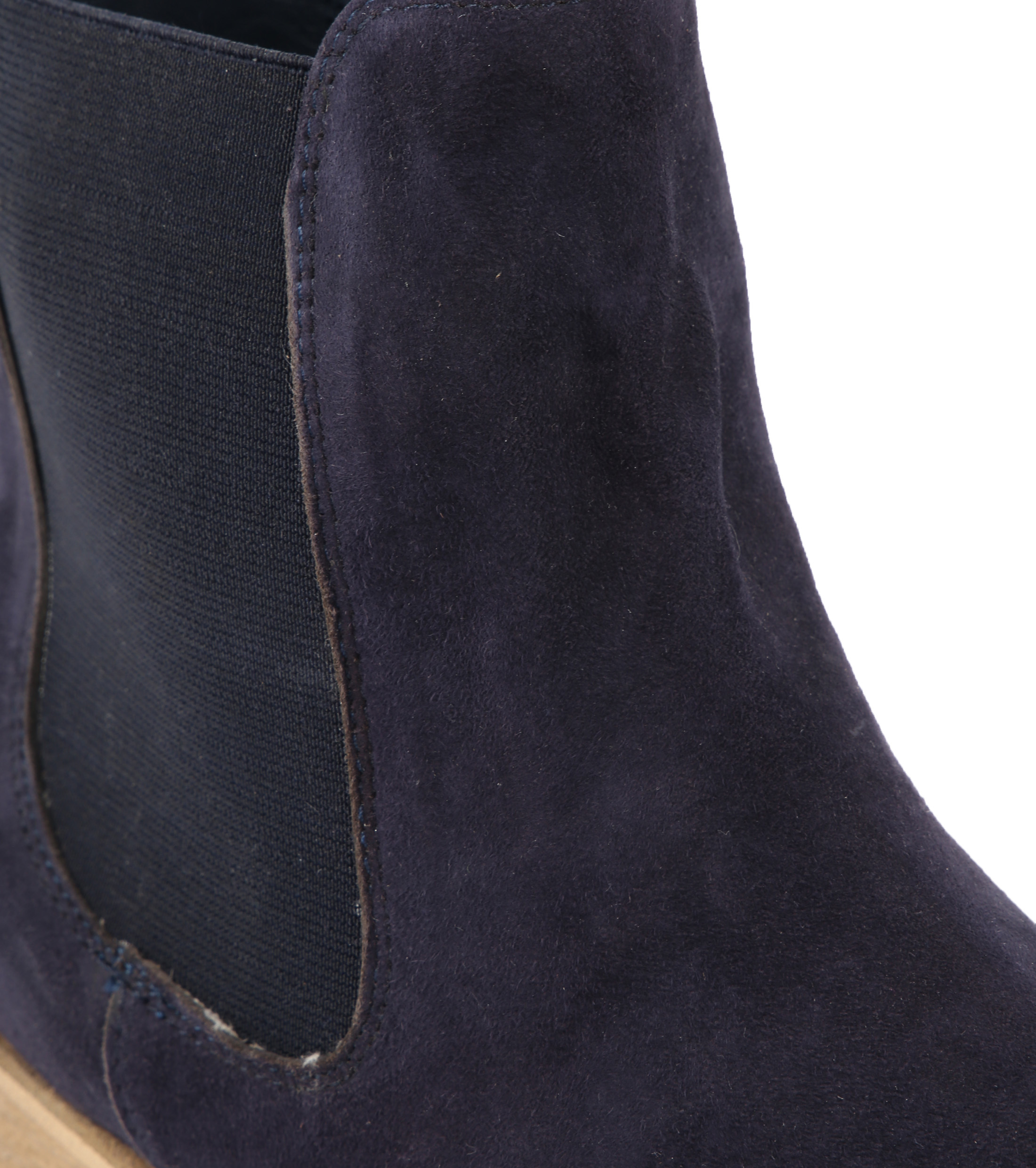 Suede Boots Chelsea Navy foto 1