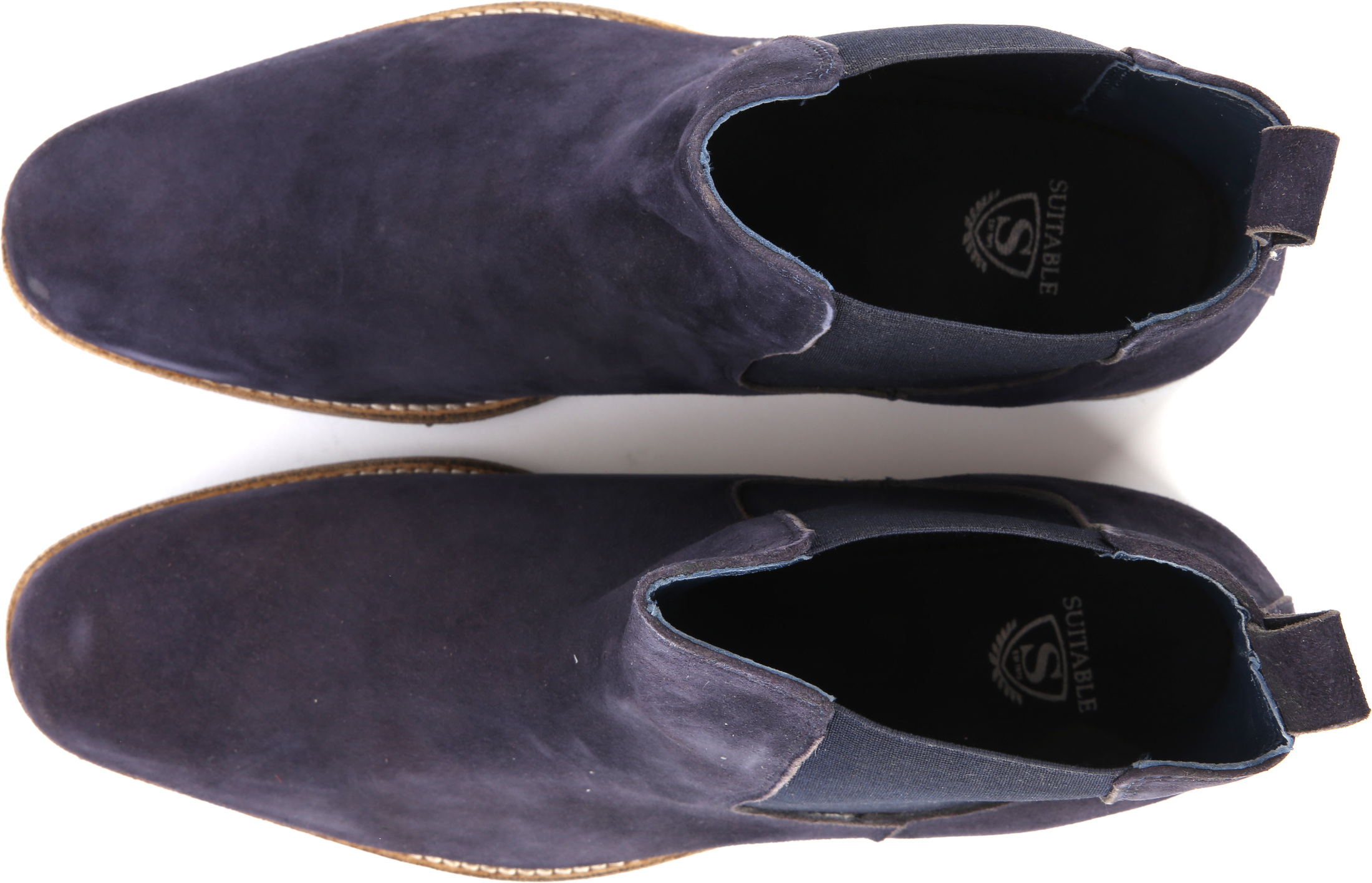 Suede Boots Chelsea Navy foto 2