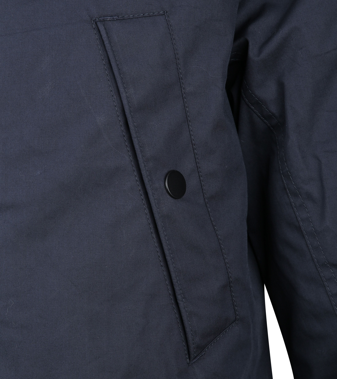 Suitable 2 in 1 Winterjas Waxed look Donkerblauw foto 4