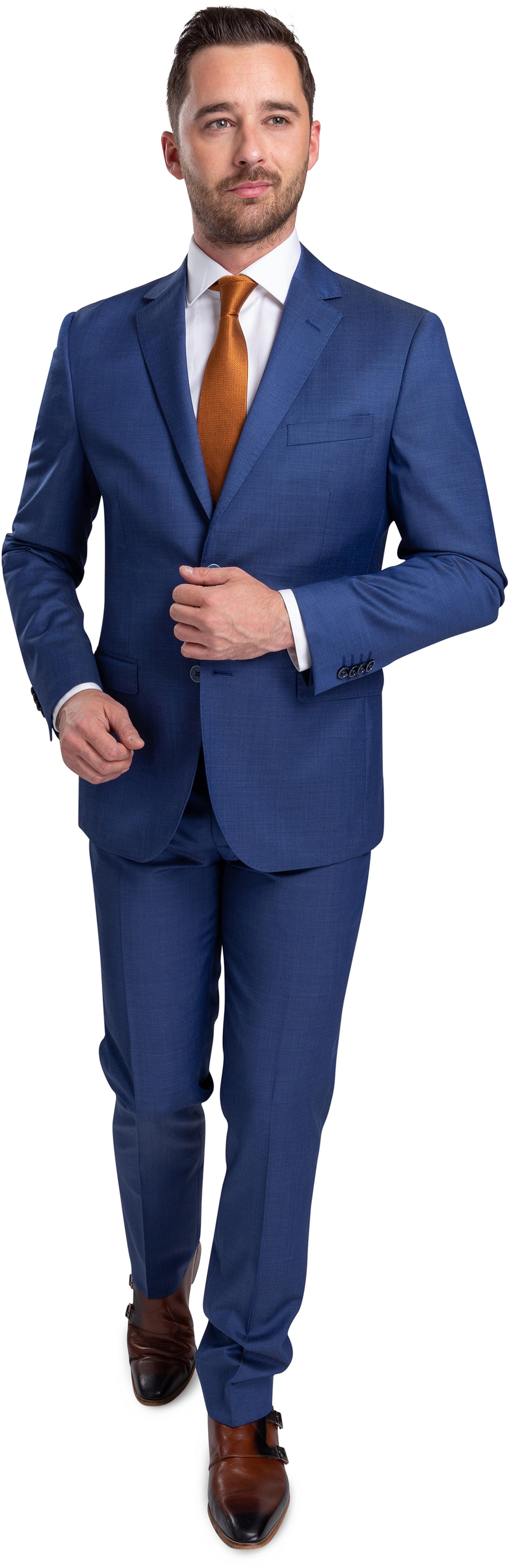 Suitable Anzug Lucius Lyon Blau foto 0