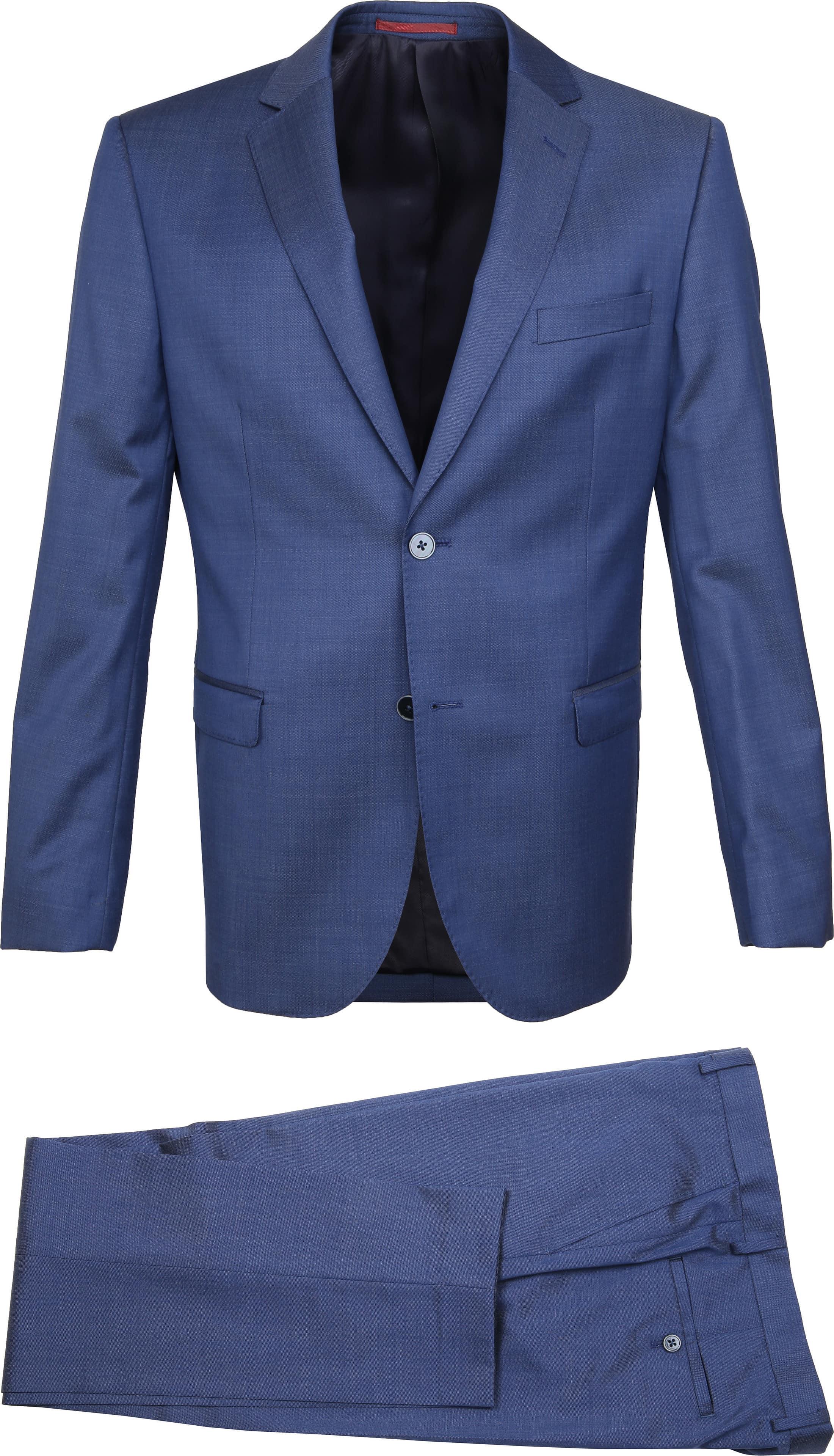 Suitable Anzug Lucius Lyon Blau foto 1
