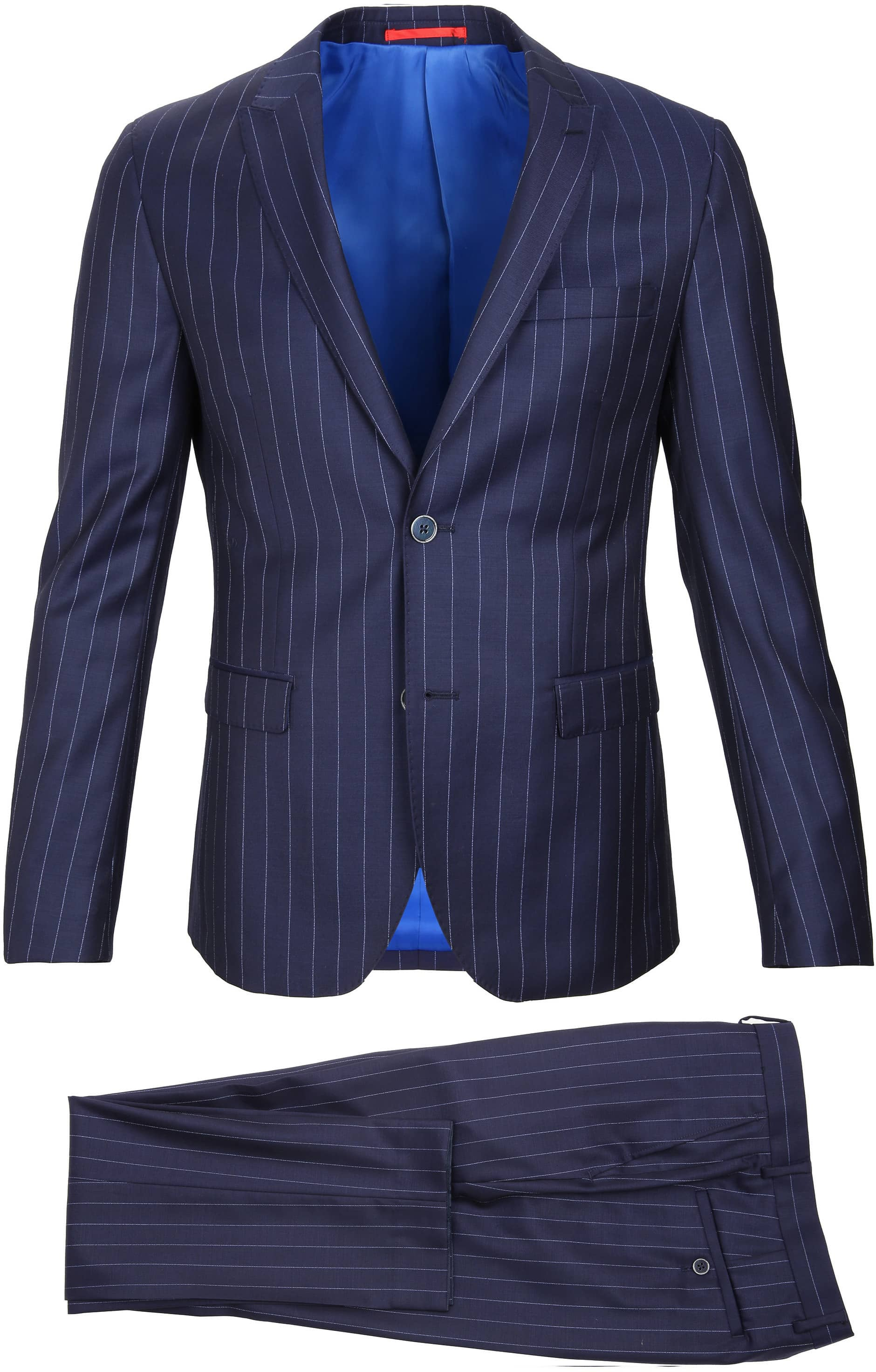 Suitable Anzug Nancy Dunkelblau Streifen foto 2
