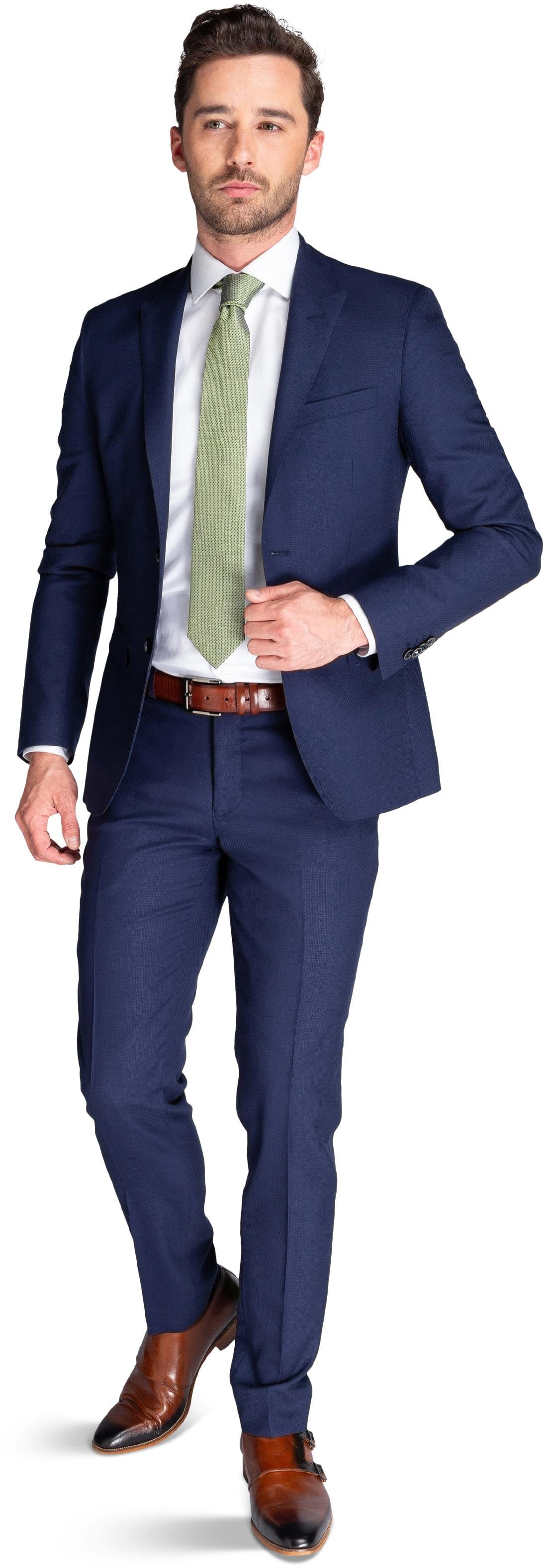 Suitable Anzug Strato Dunkelblau foto 0