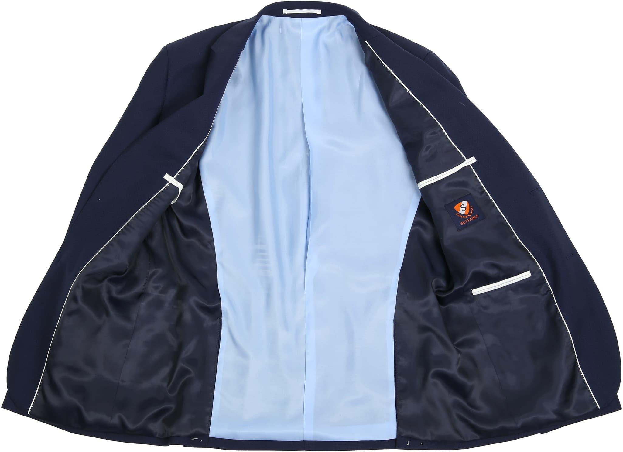 Suitable Anzug Strato Dunkelblau foto 3