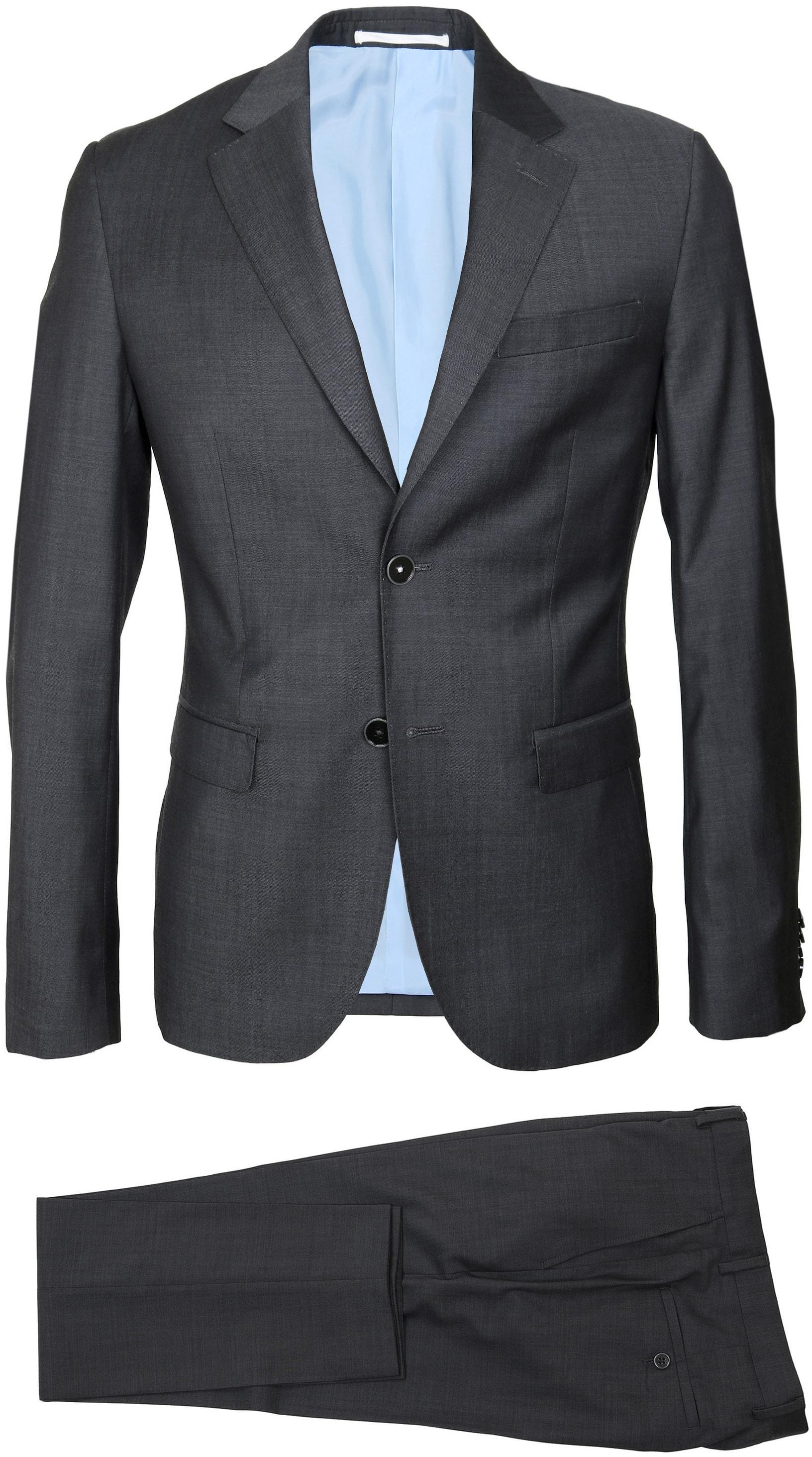 Suitable Anzug Strato Dunkelgrau foto 2