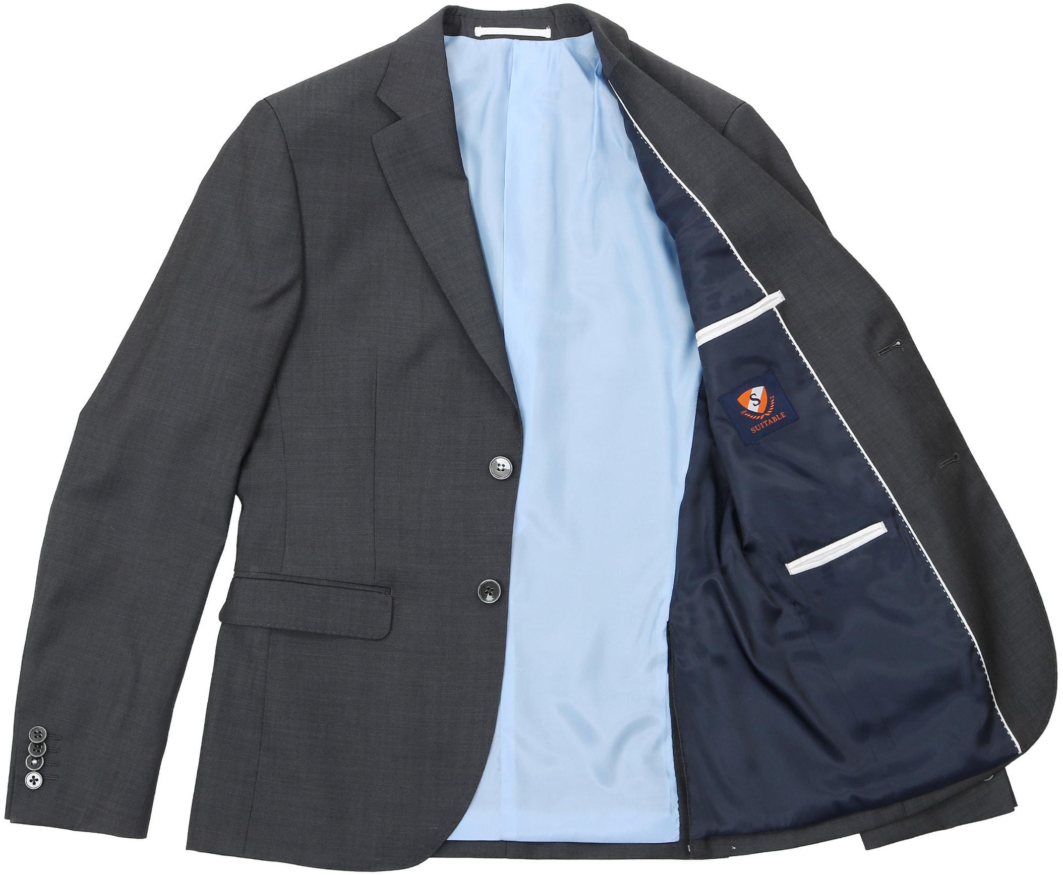 Suitable Anzug Strato Dunkelgrau foto 6