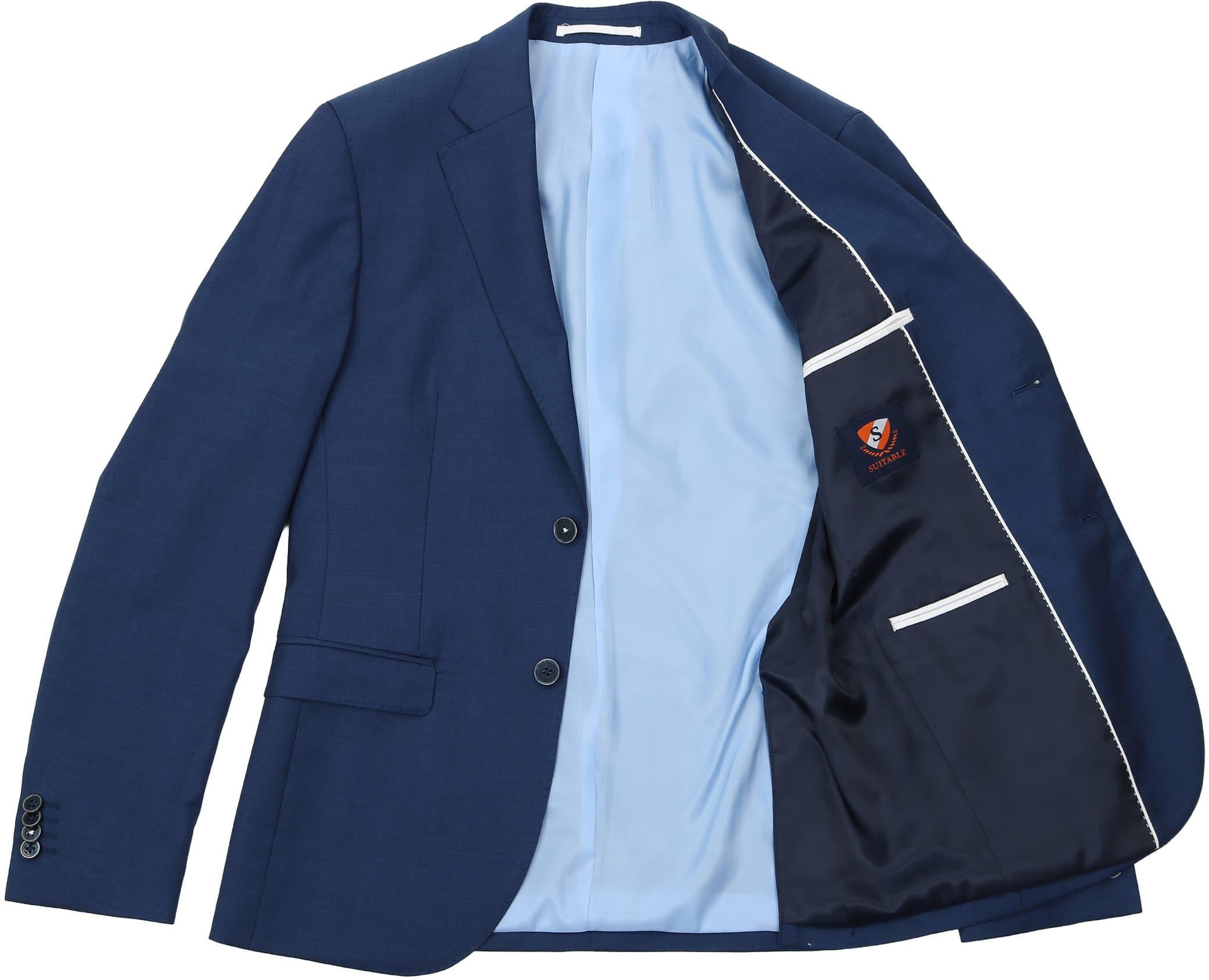 Suitable Anzug Strato Hellblau Navy foto 5