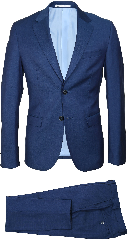 Suitable Anzug Strato Hellblau Navy foto 2