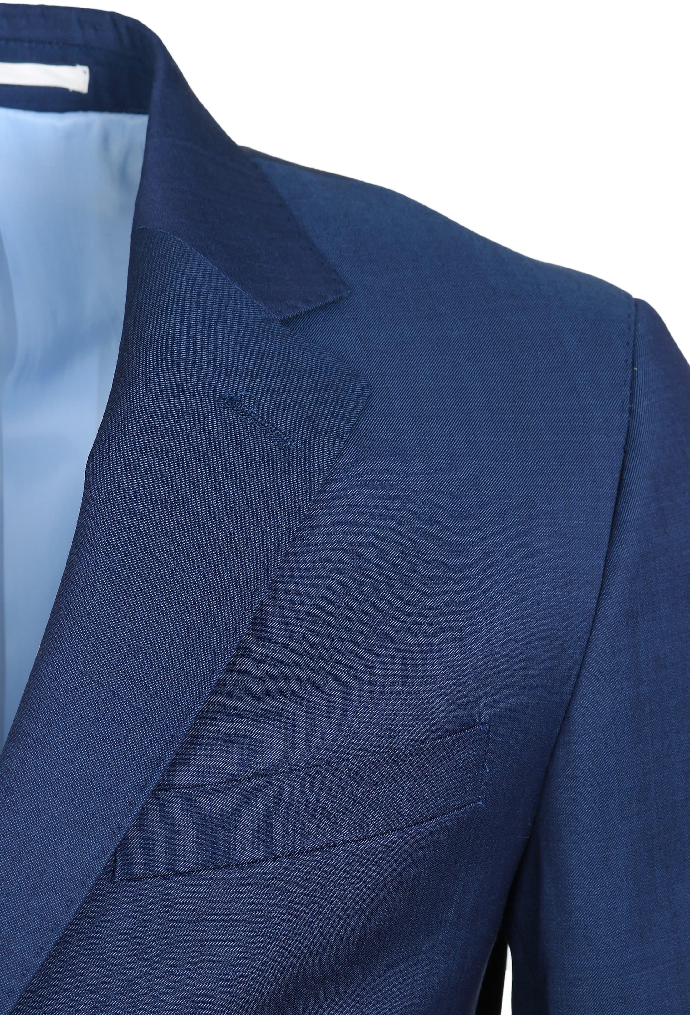Suitable Anzug Strato Hellblau Navy foto 3