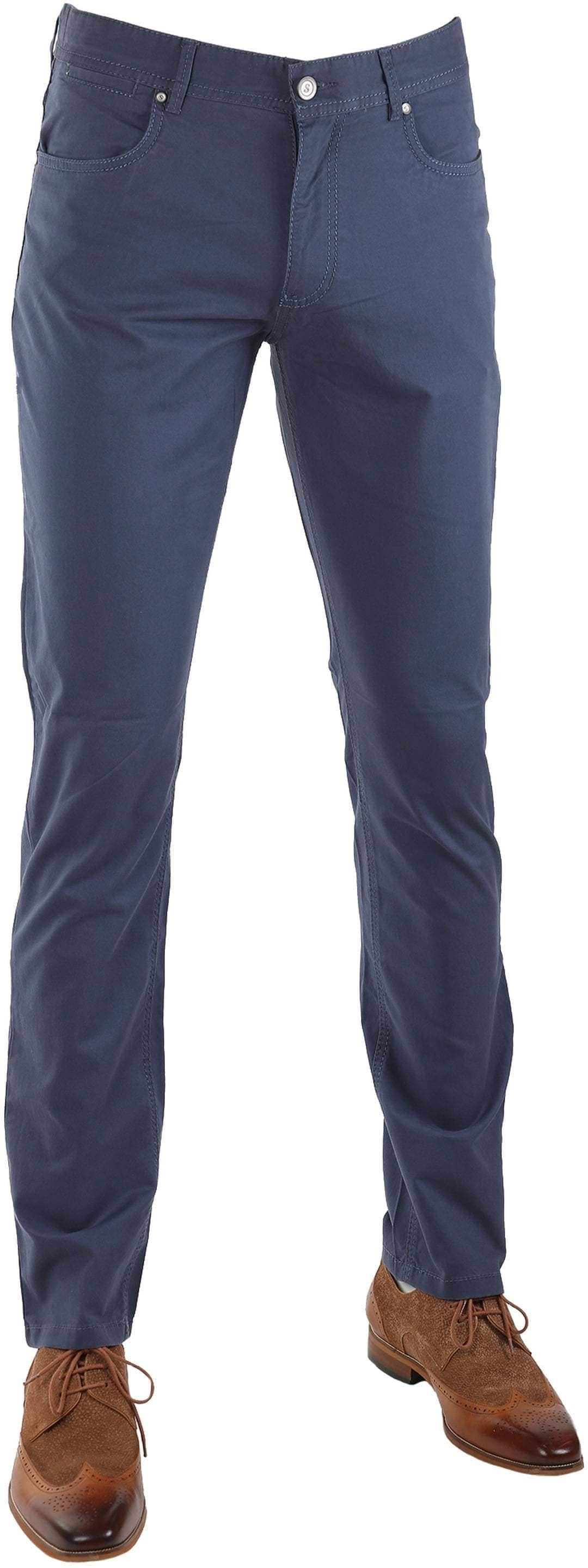 Suitable Barrie Broek Donkerblauw foto 0