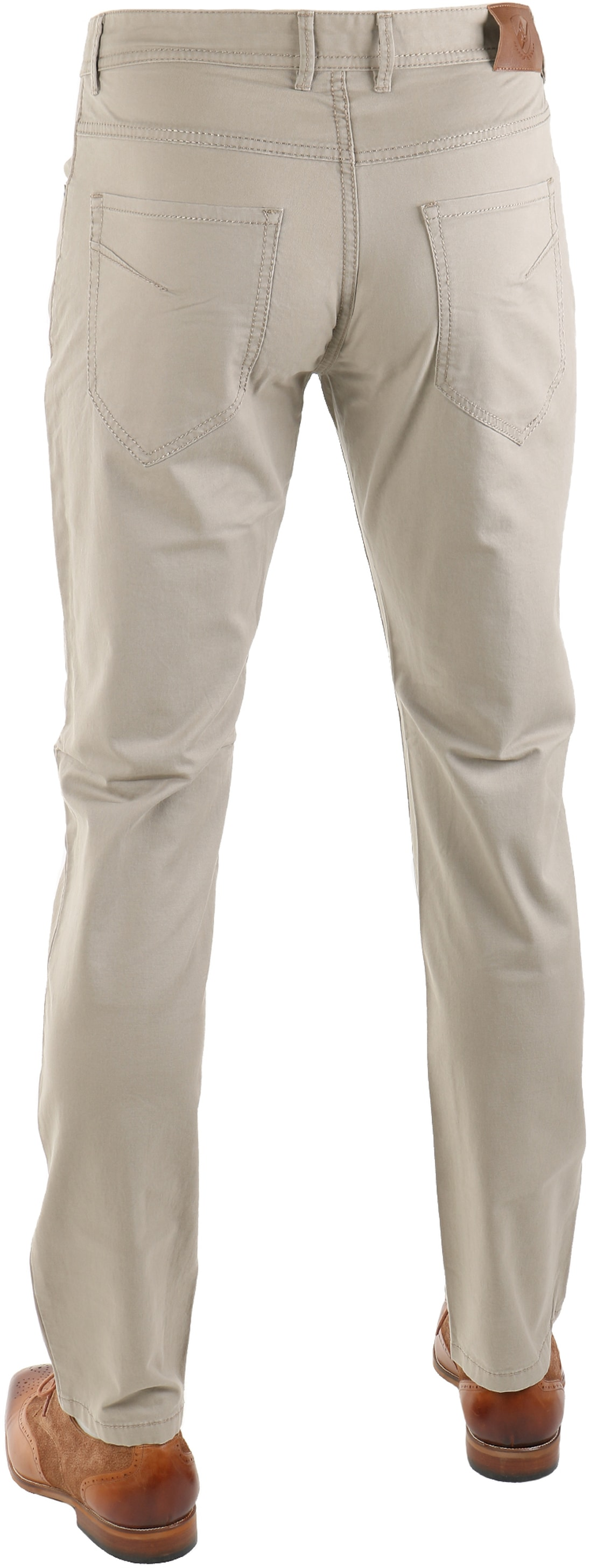 Suitable Barrie Broek Khaki foto 1