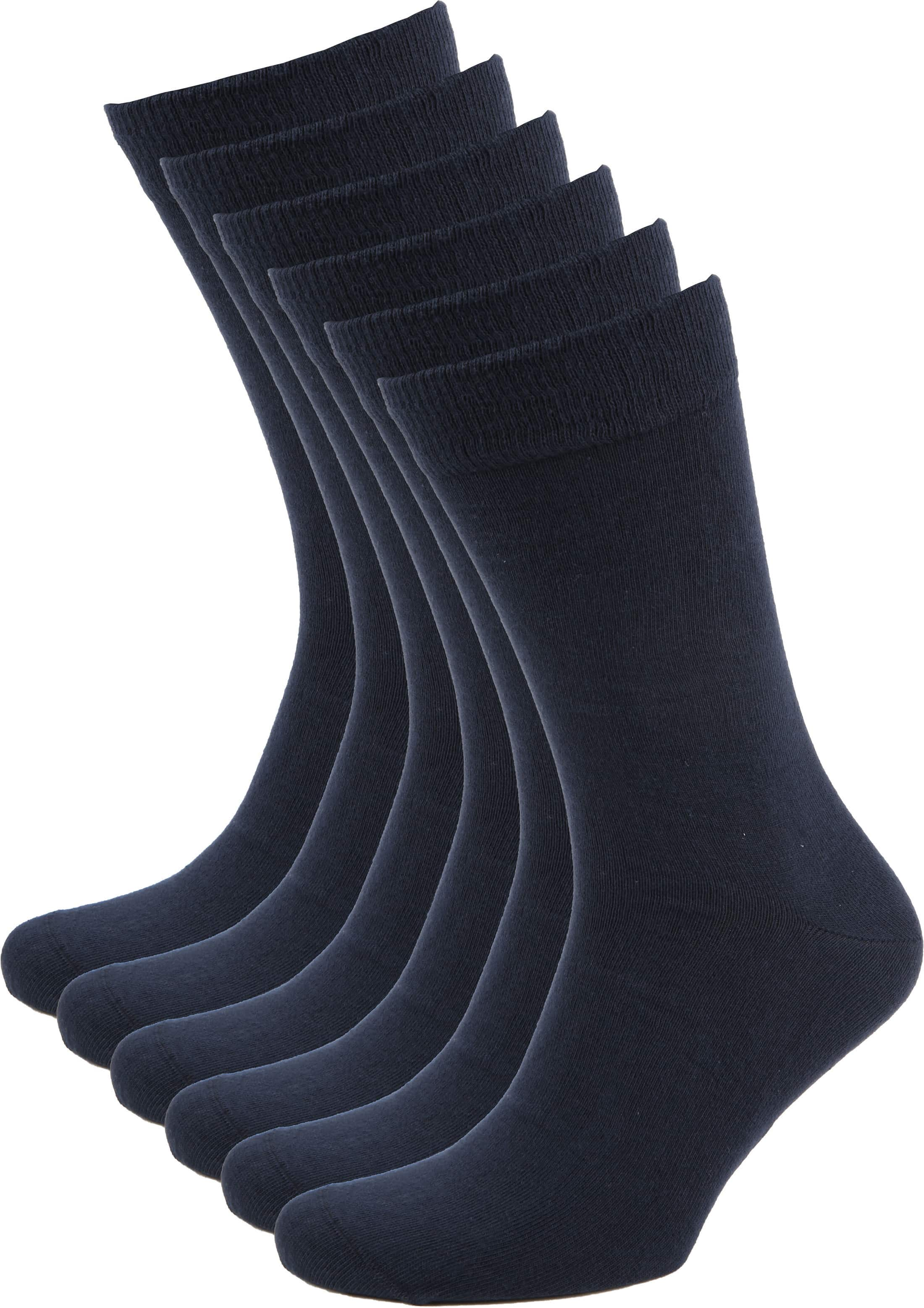 Suitable Bio Cotton Socks Navy 6-Pack foto 0
