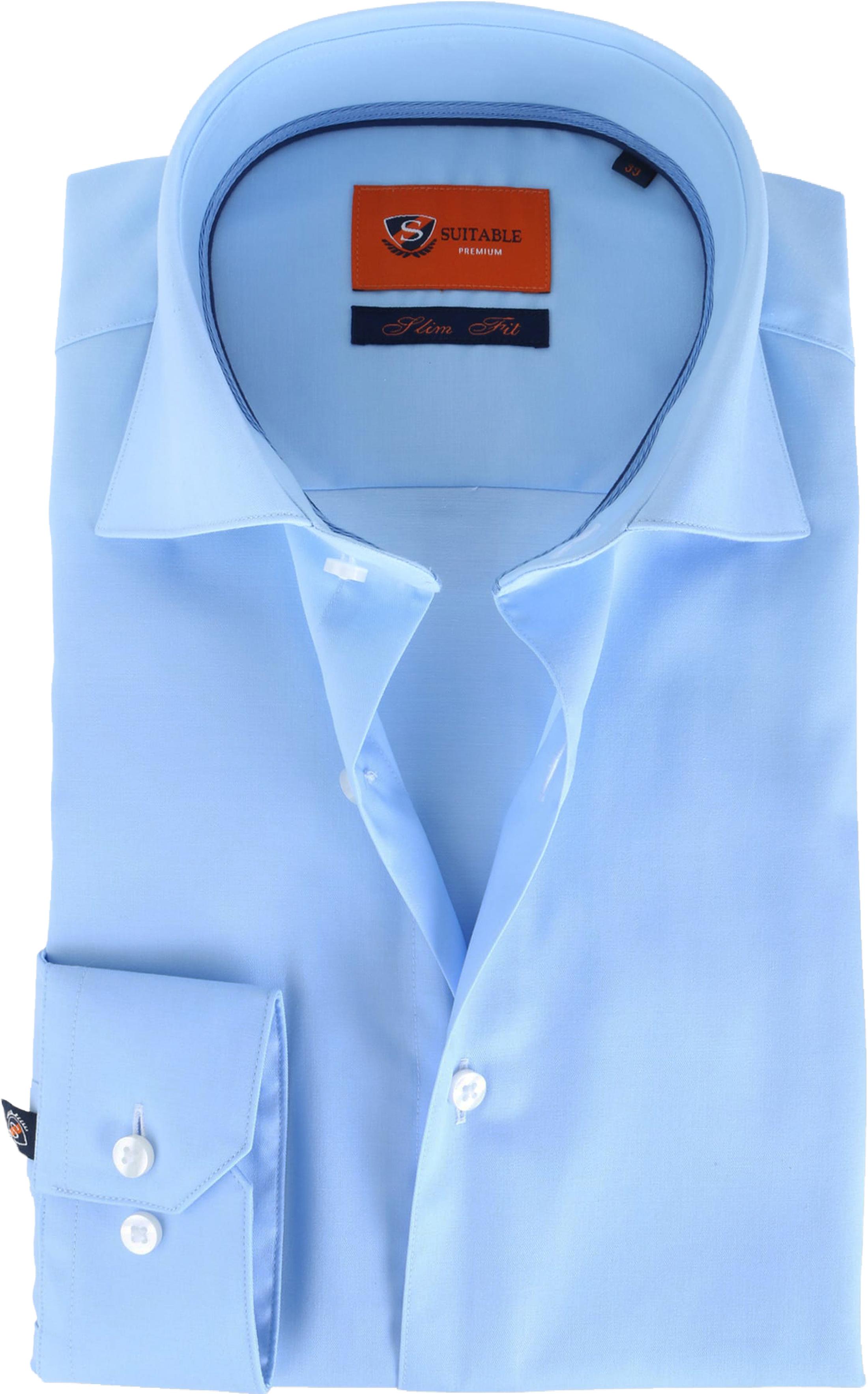 Suitable Blau Hemd Slim Fit DR-03