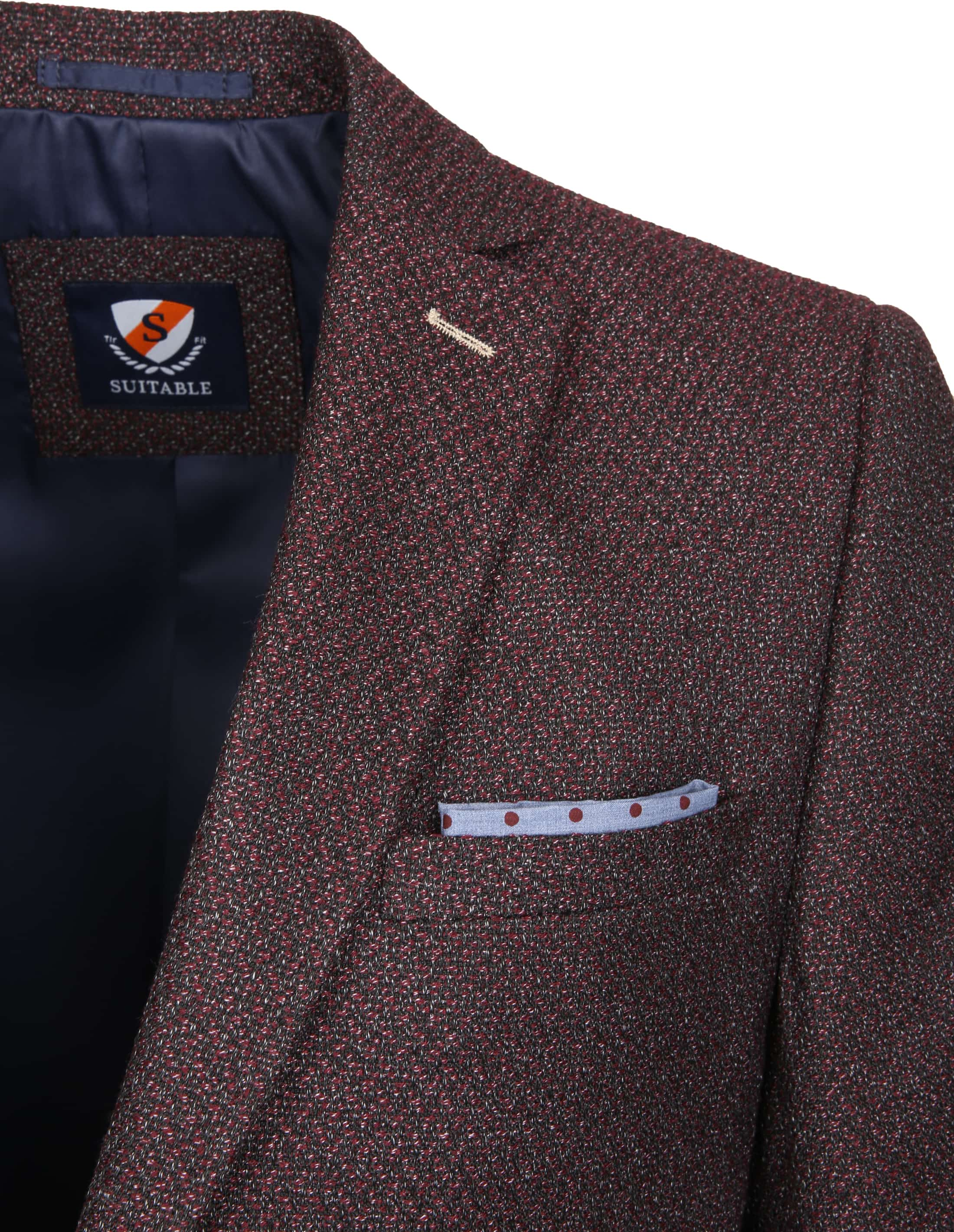 Suitable Blazer Art Bordeaux foto 2