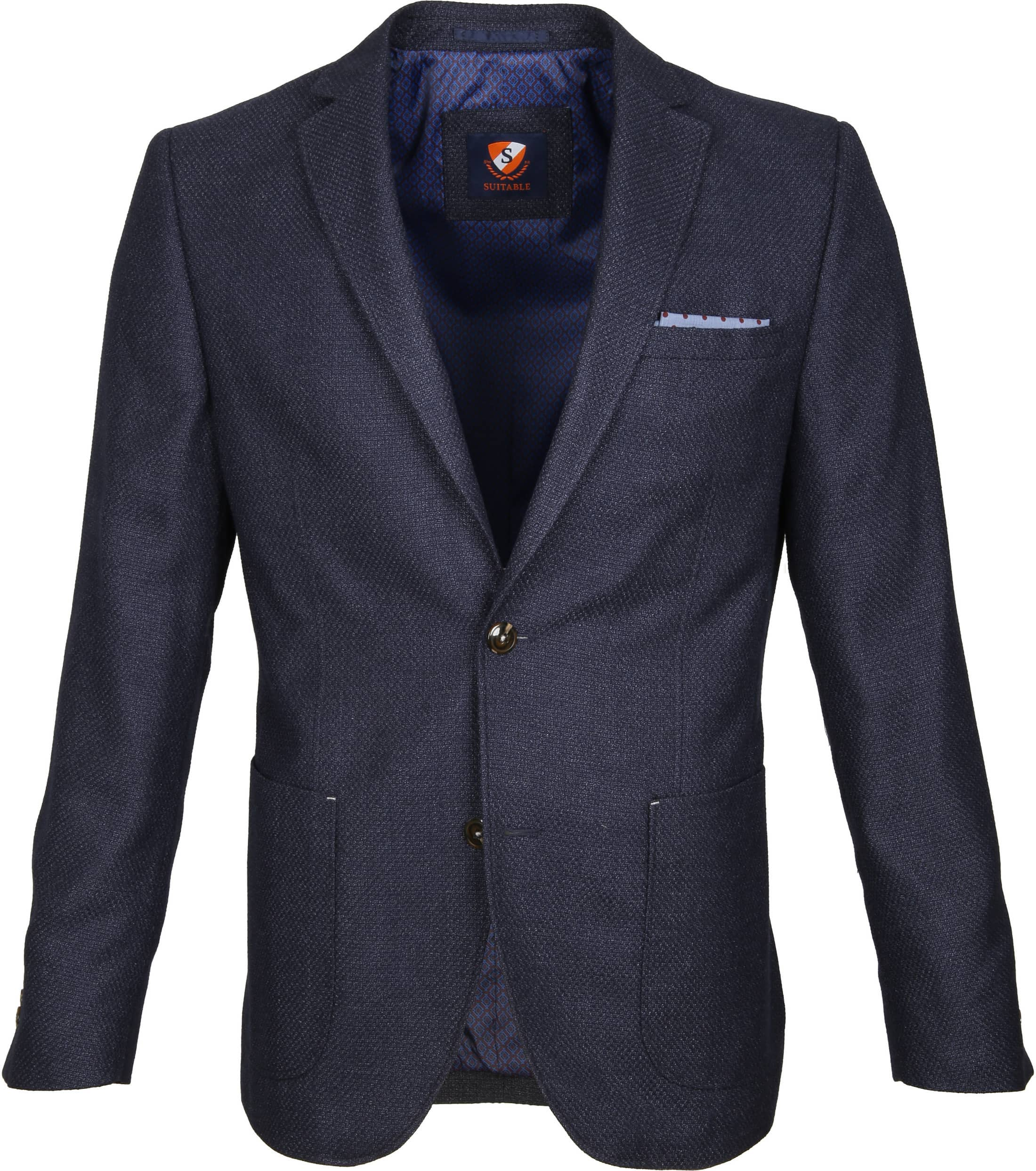 Suitable Blazer Art Navy foto 0