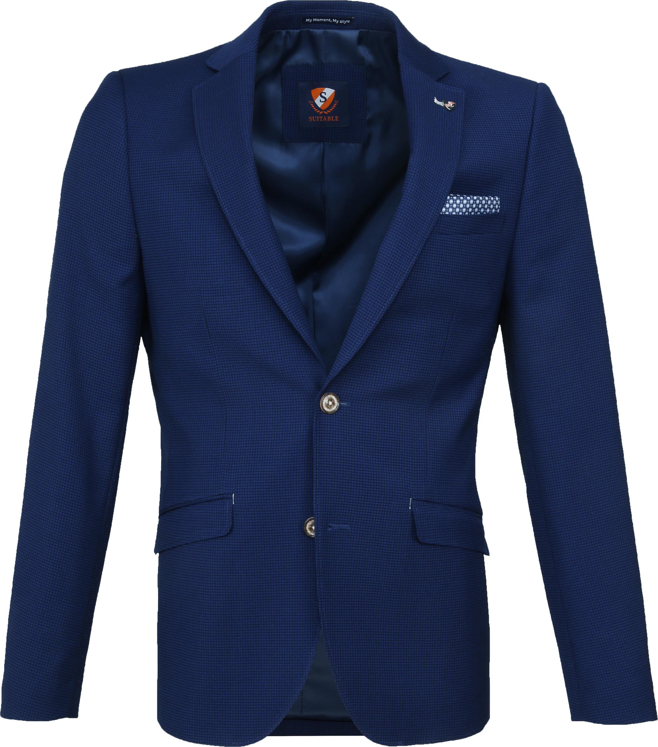 Suitable Blazer Kastri Blauw foto 0