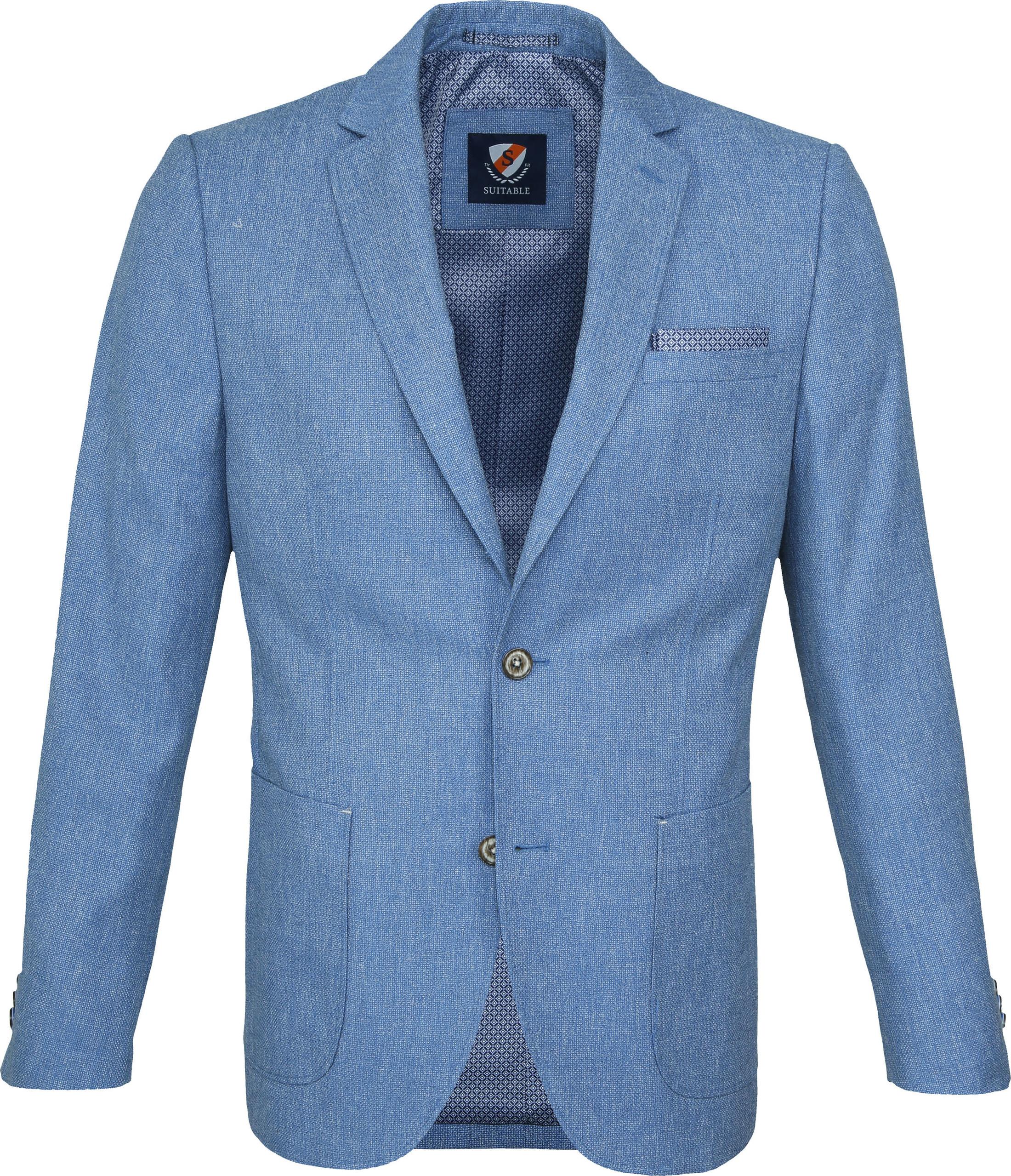 Suitable Blazer Tolo Lichtblauw foto 0