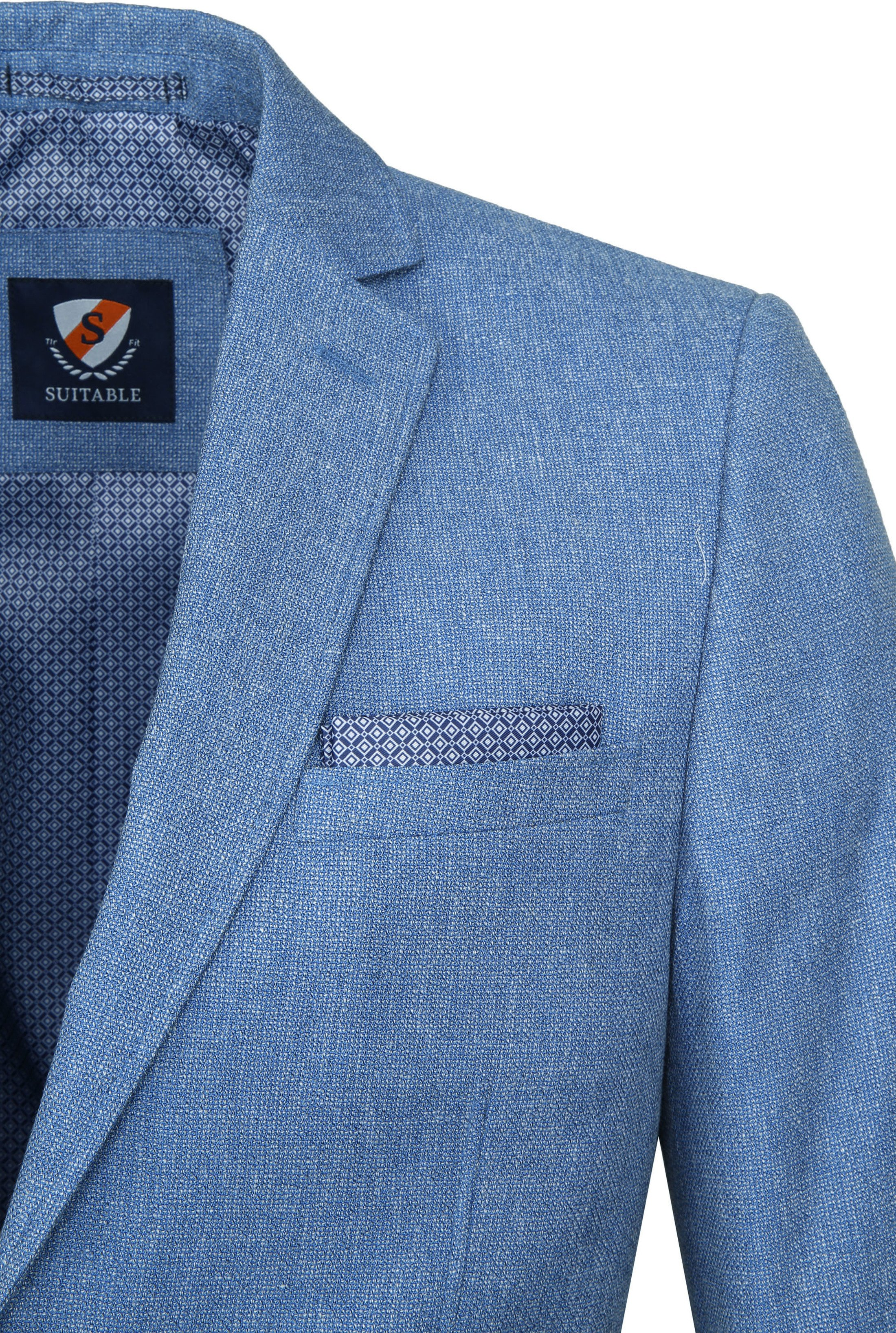 Suitable Blazer Tolo Lichtblauw foto 1