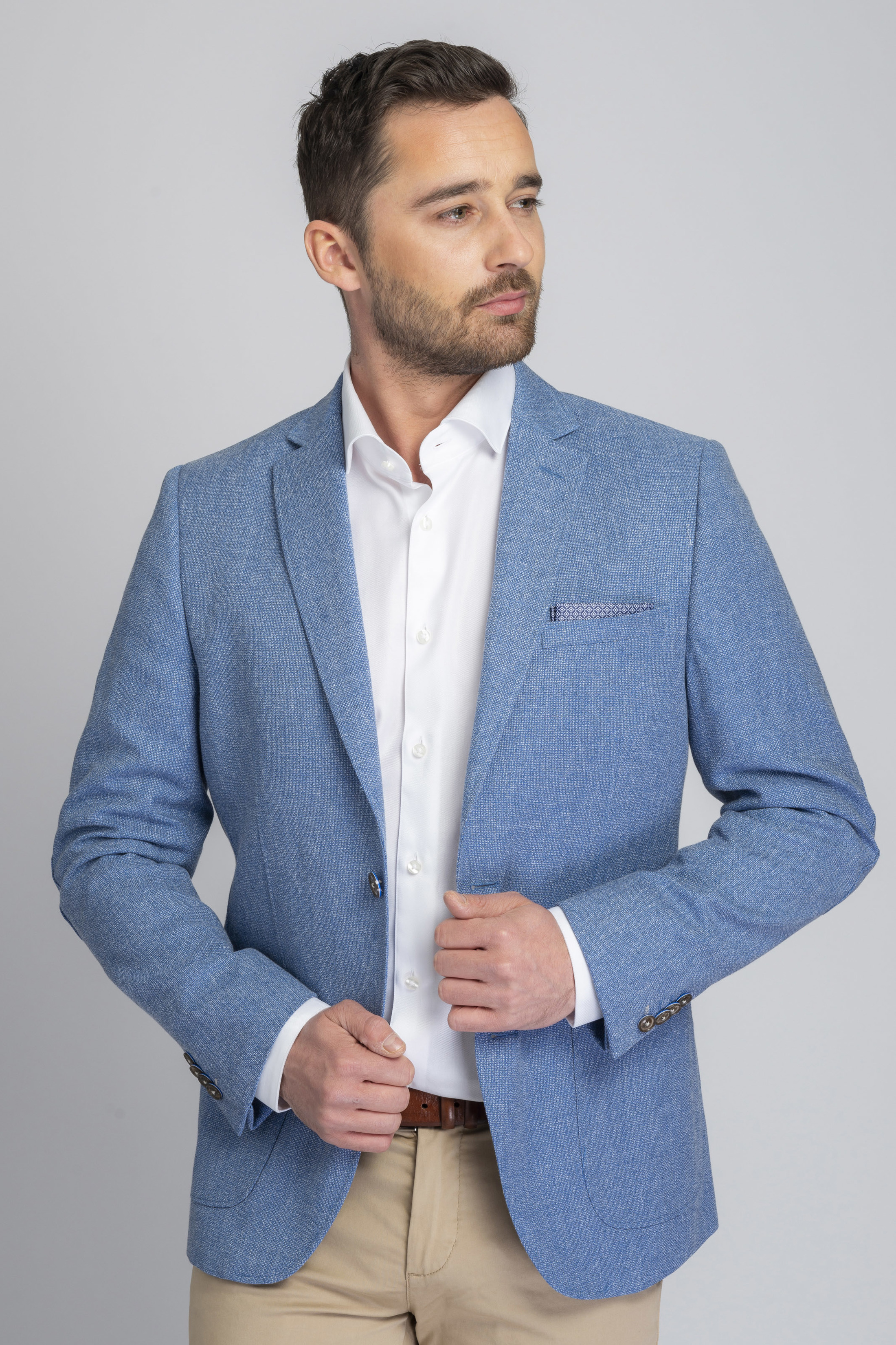 Suitable Blazer Tolo Light Blue foto 5