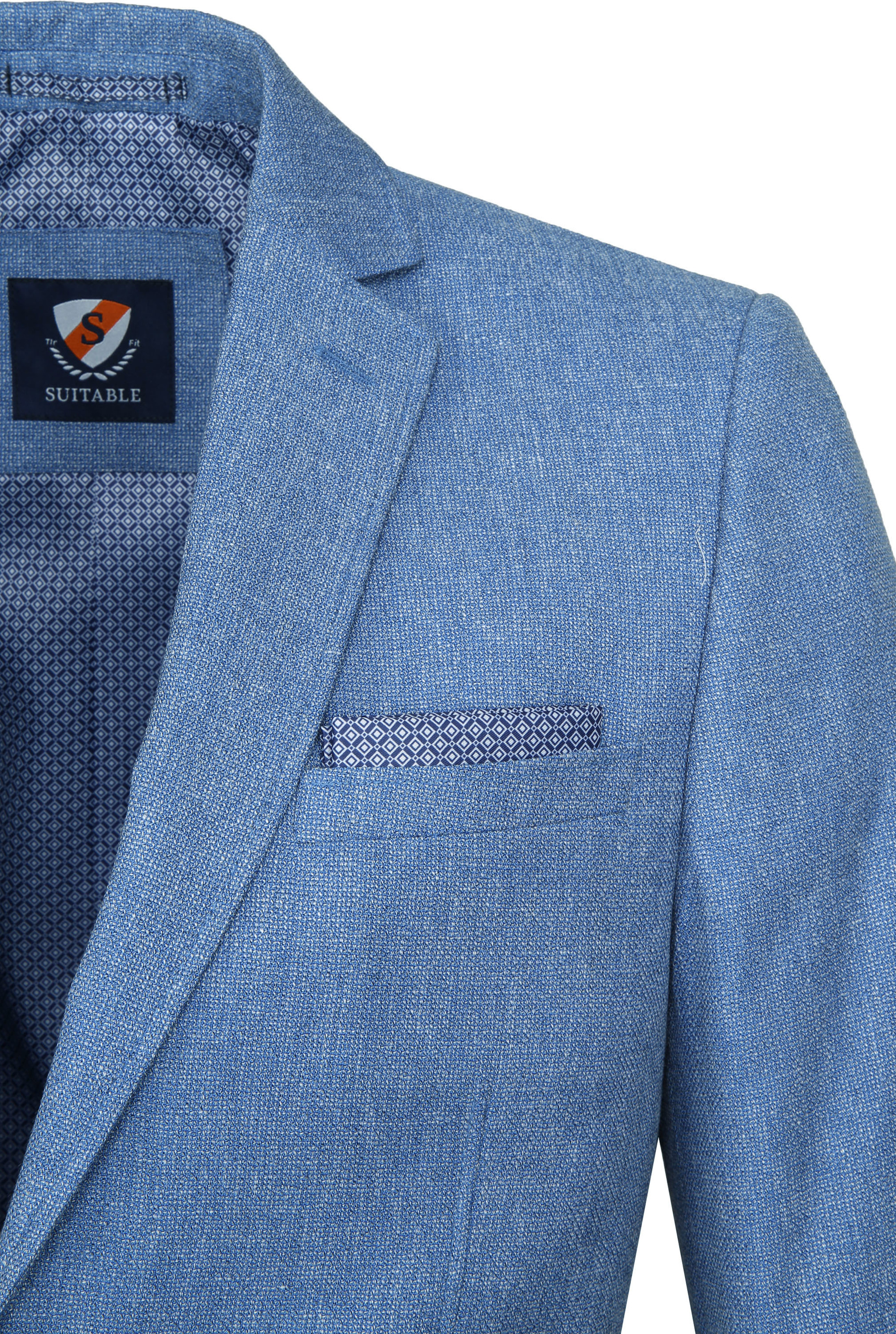 Suitable Blazer Tolo Light Blue foto 1