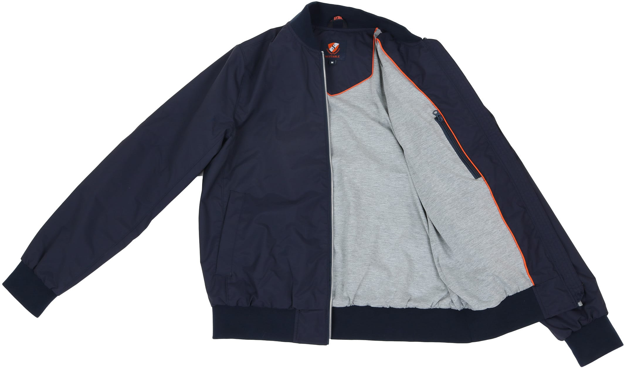 Suitable Bomber Chapron Navy foto 5
