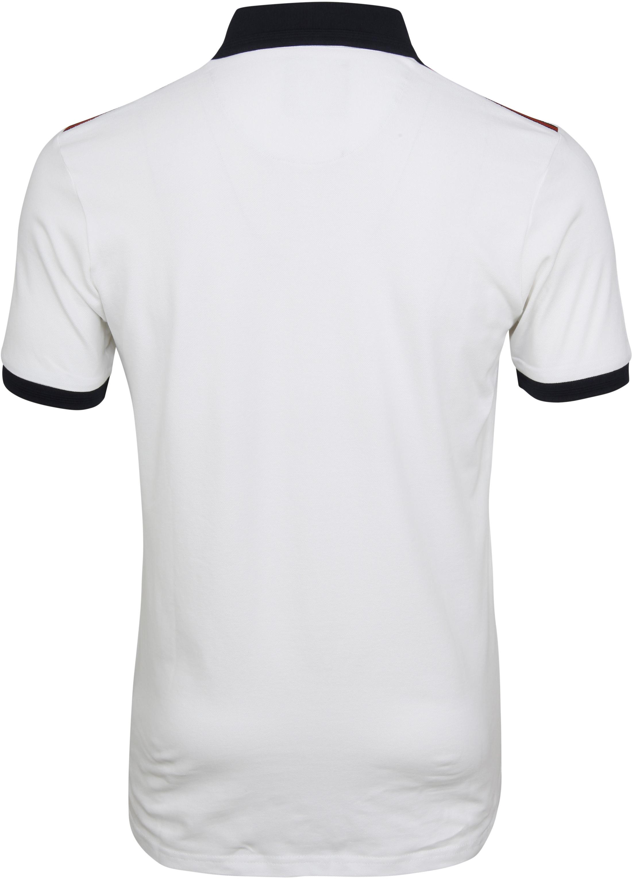 Suitable Branson Poloshirt Stretch White foto 4