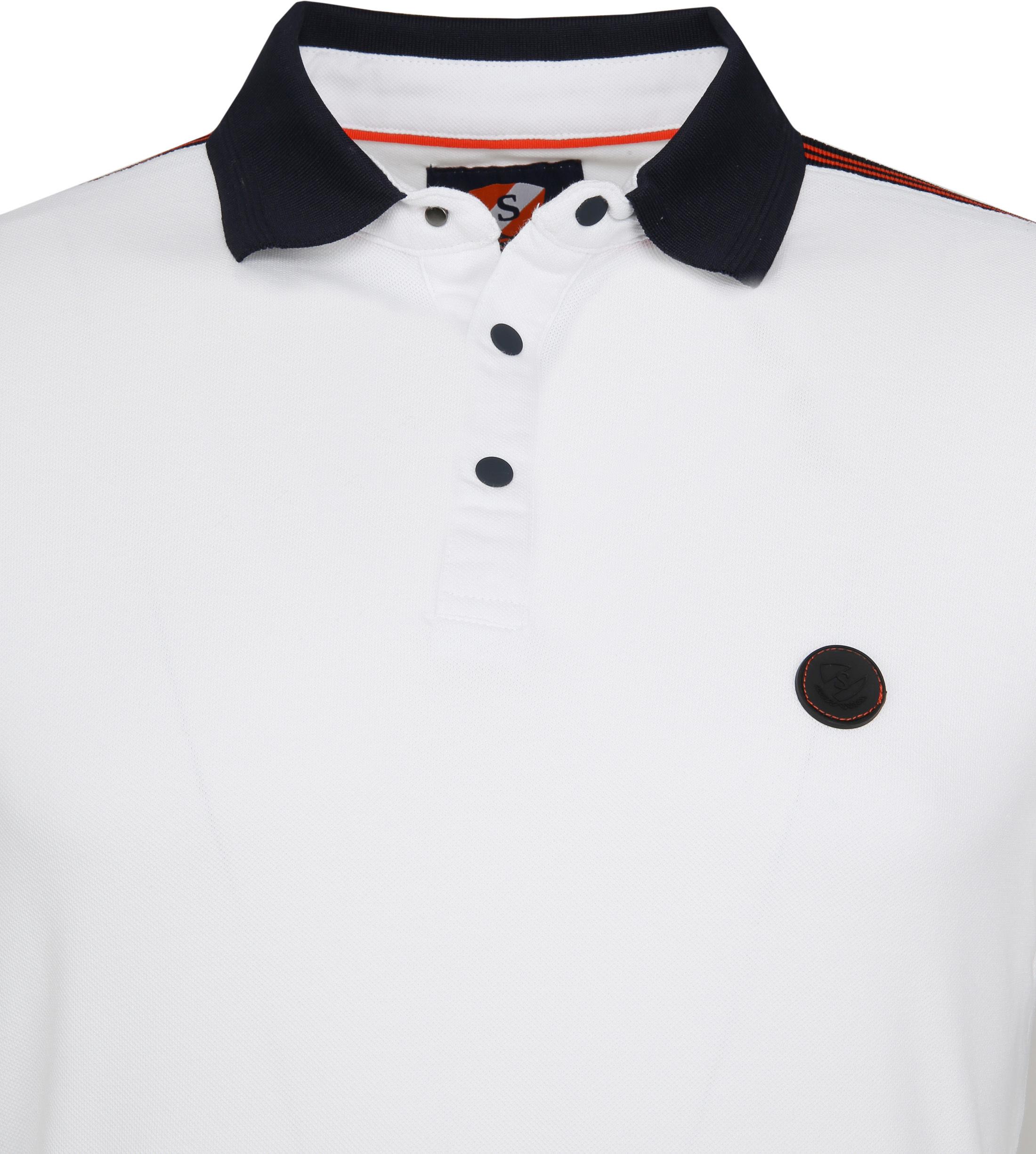 Suitable Branson Poloshirt Stretch White foto 1