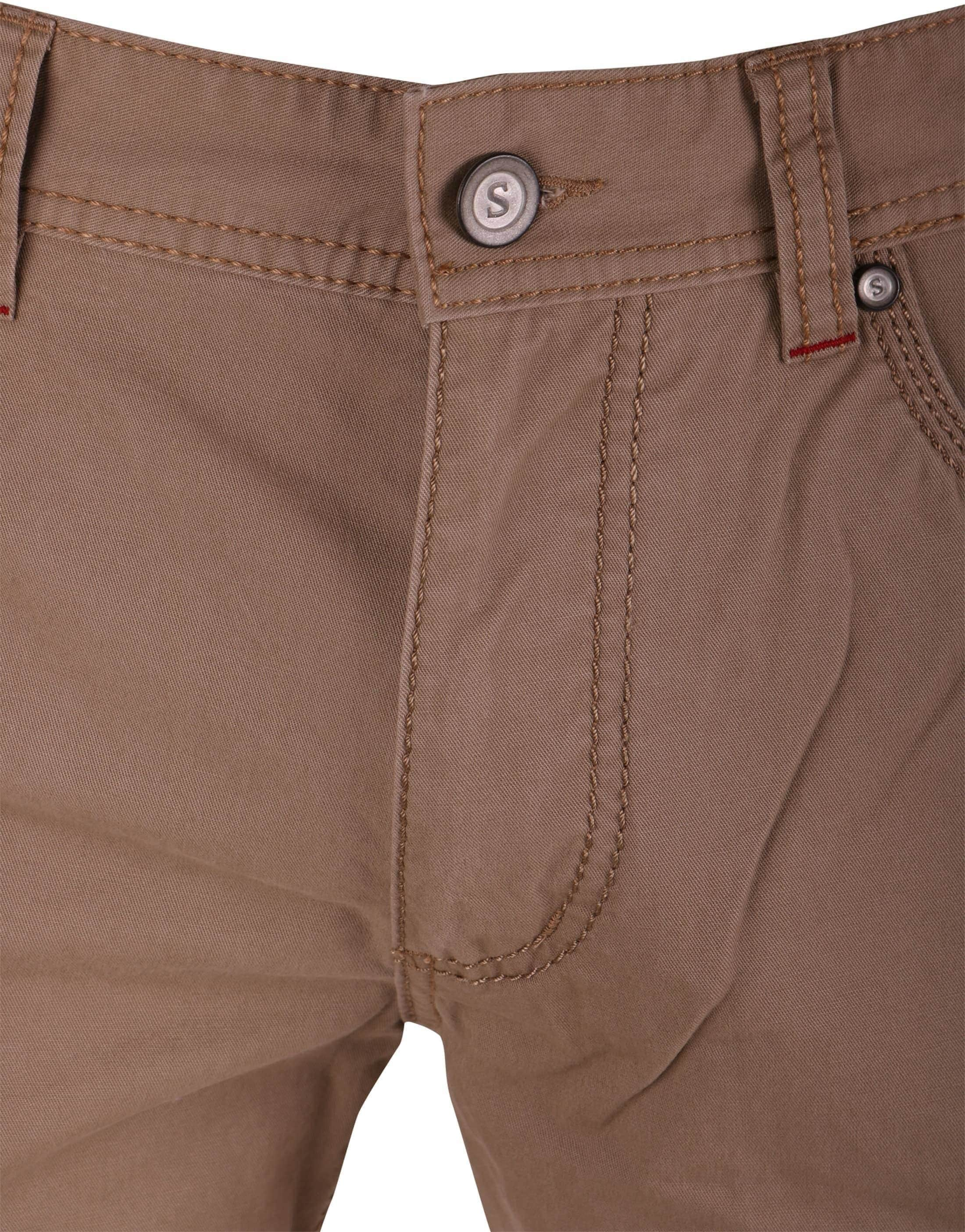 Suitable Broek Khaki foto 2