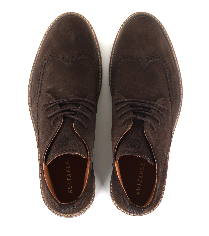Suitable Brogue Boots Bruin foto 2