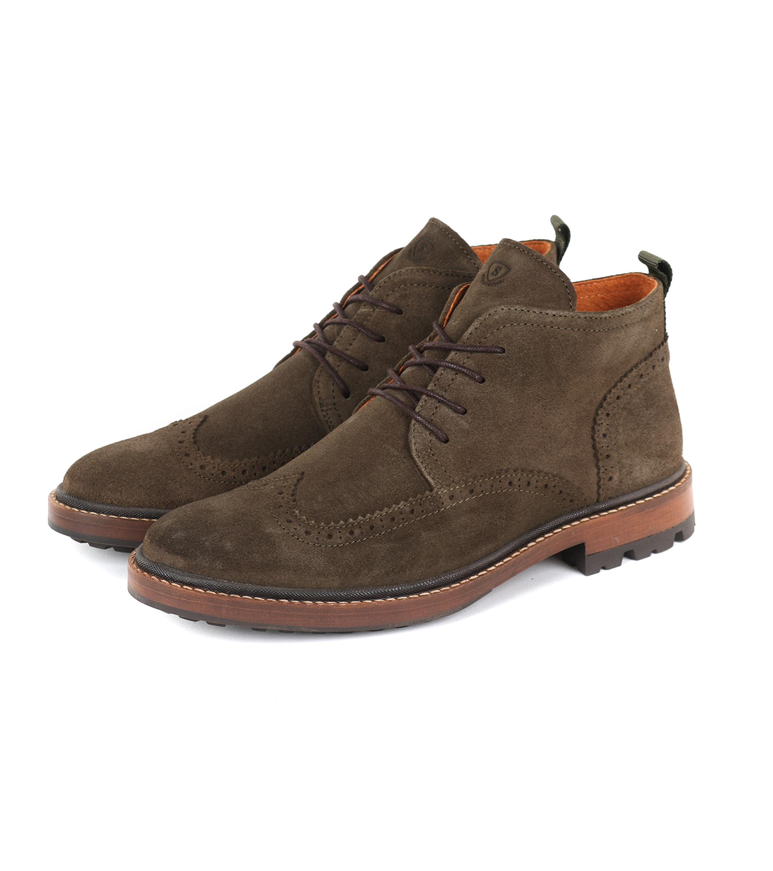 Suitable Brogue Boots Groen foto 0