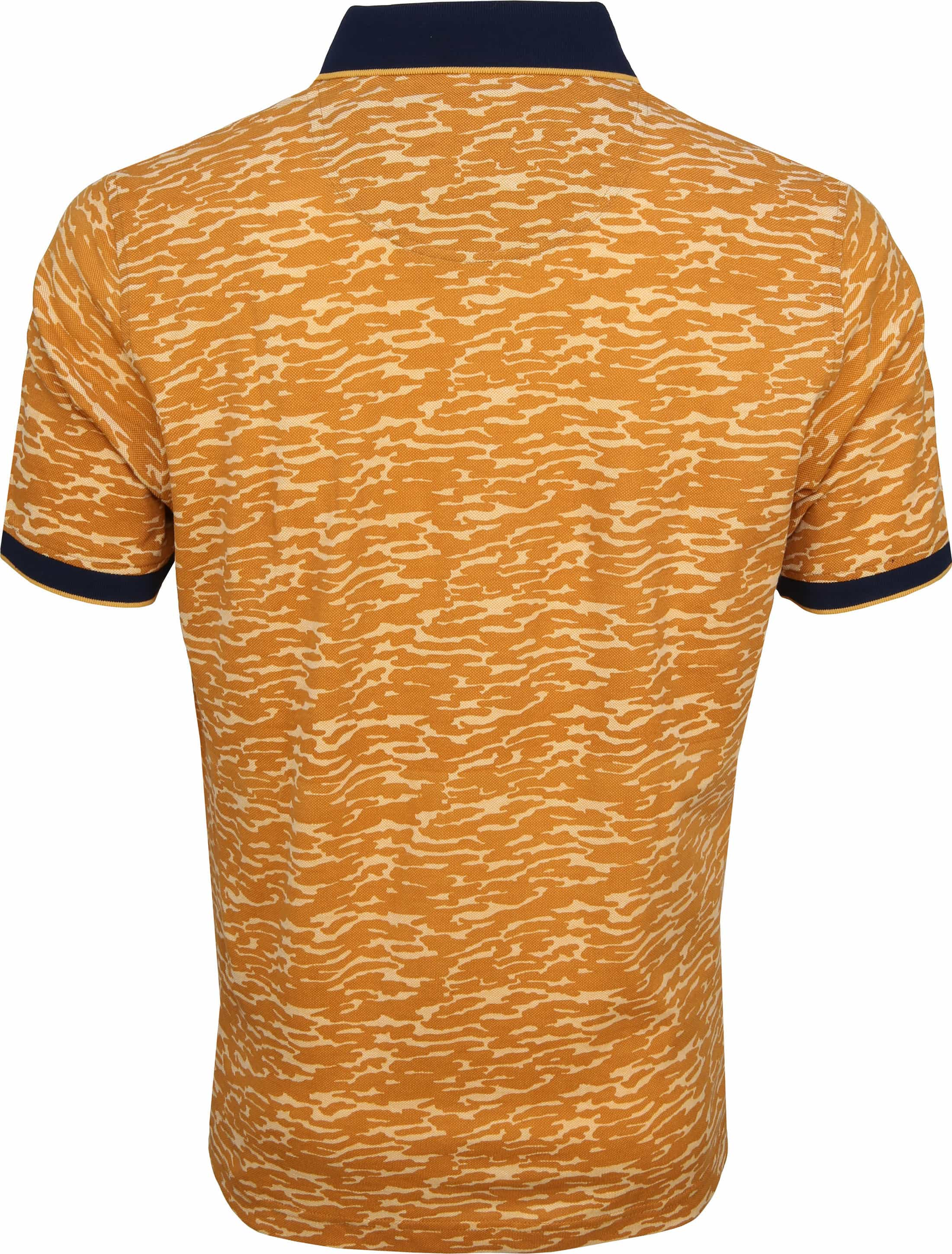 Suitable Camouflage Polo Oranje foto 3