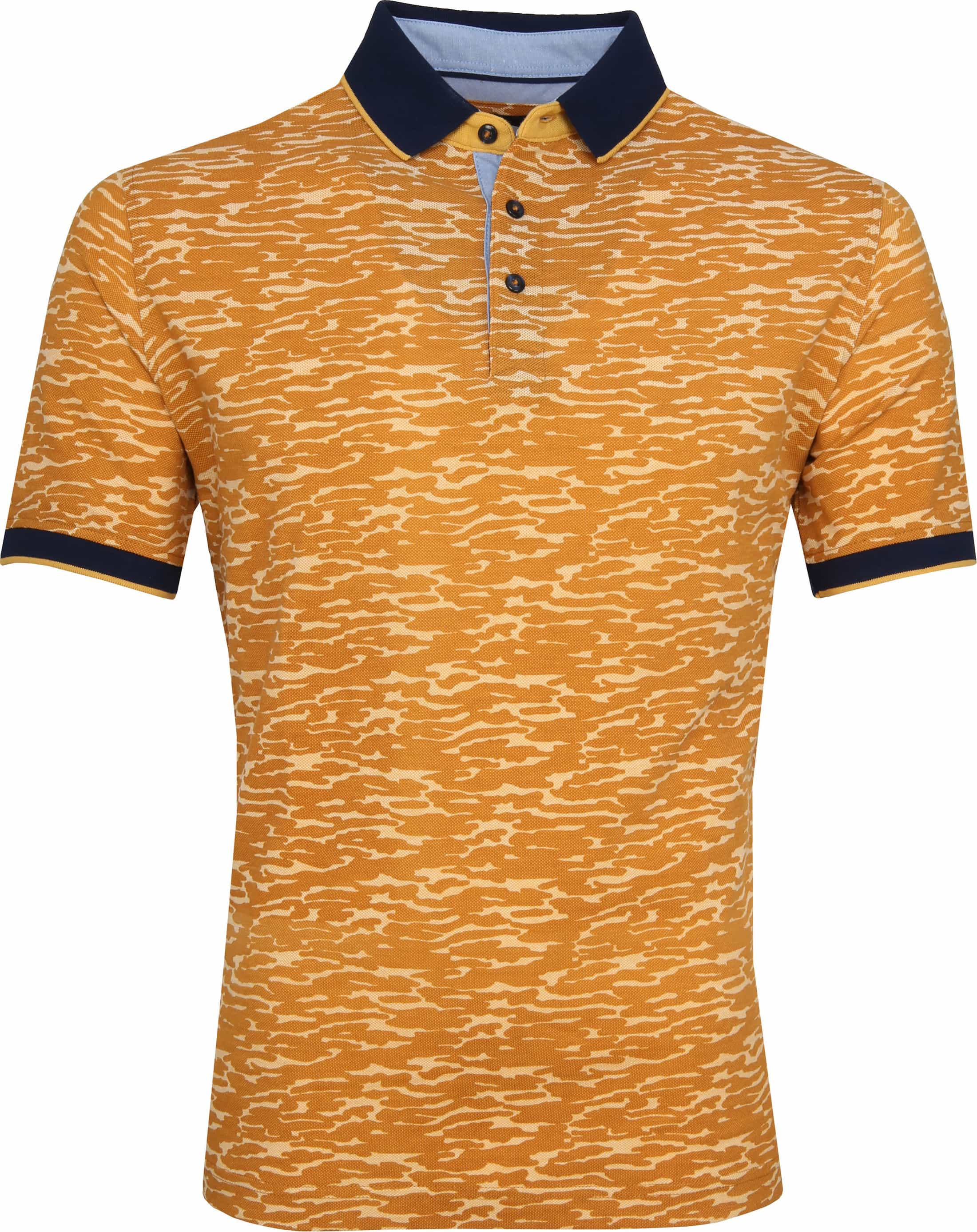Suitable Camouflage Poloshirt Orange foto 0
