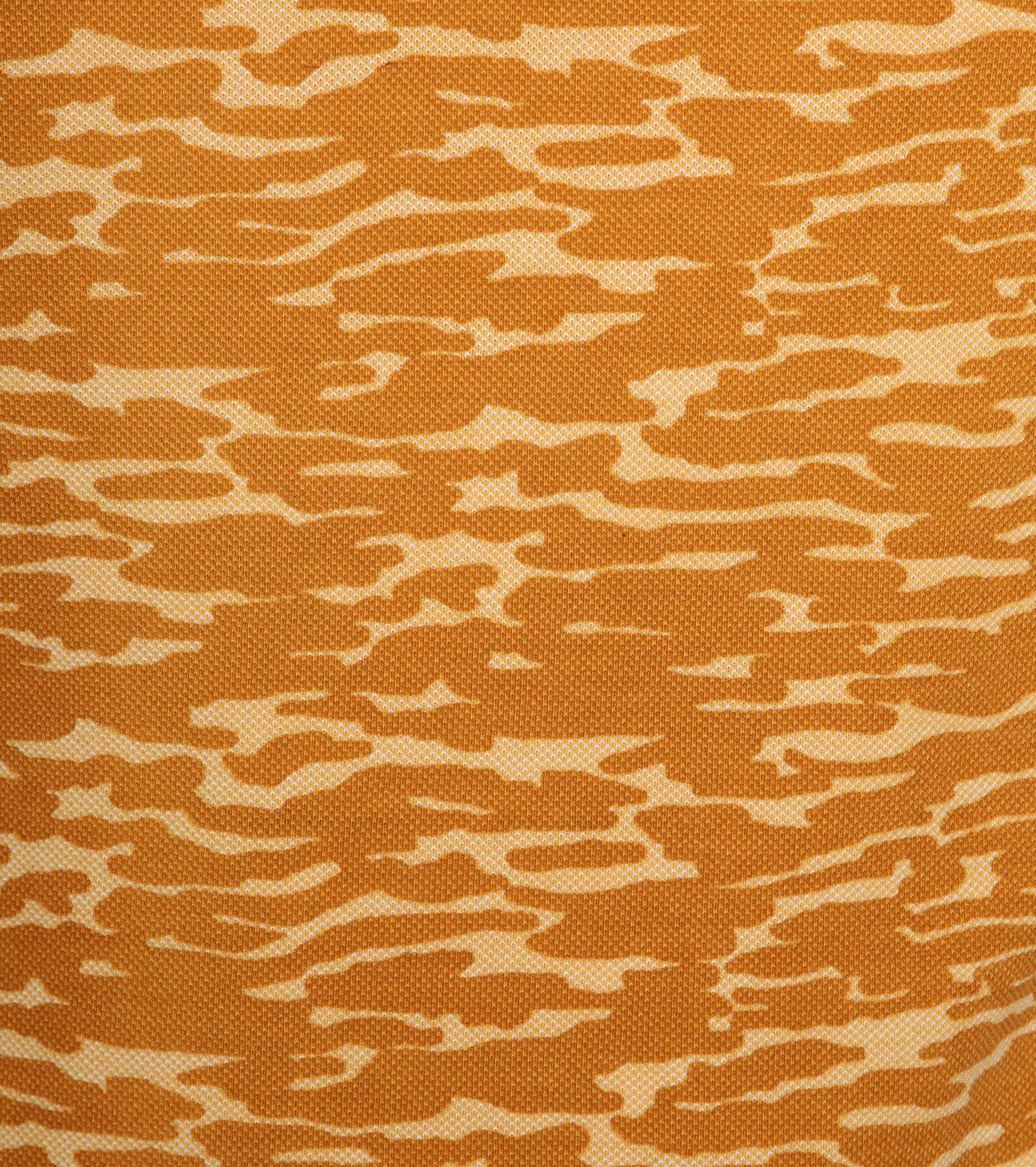 Suitable Camouflage Poloshirt Orange foto 2