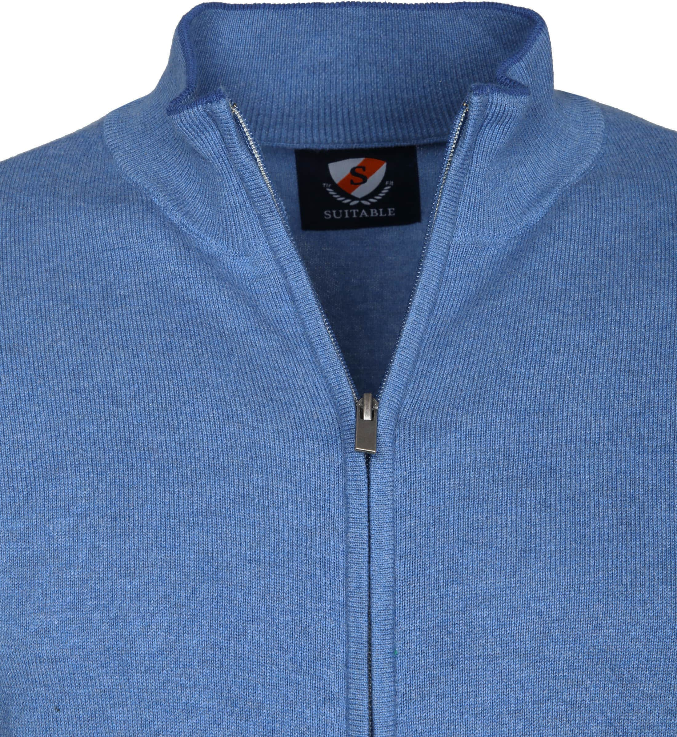 Suitable Cardigan Hans Mid Blue foto 1