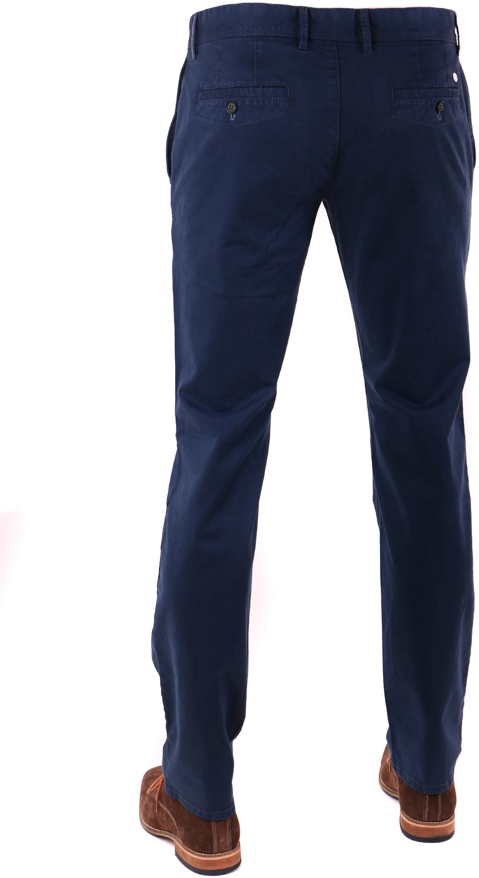 Suitable Chino Broek Dark Blue foto 1