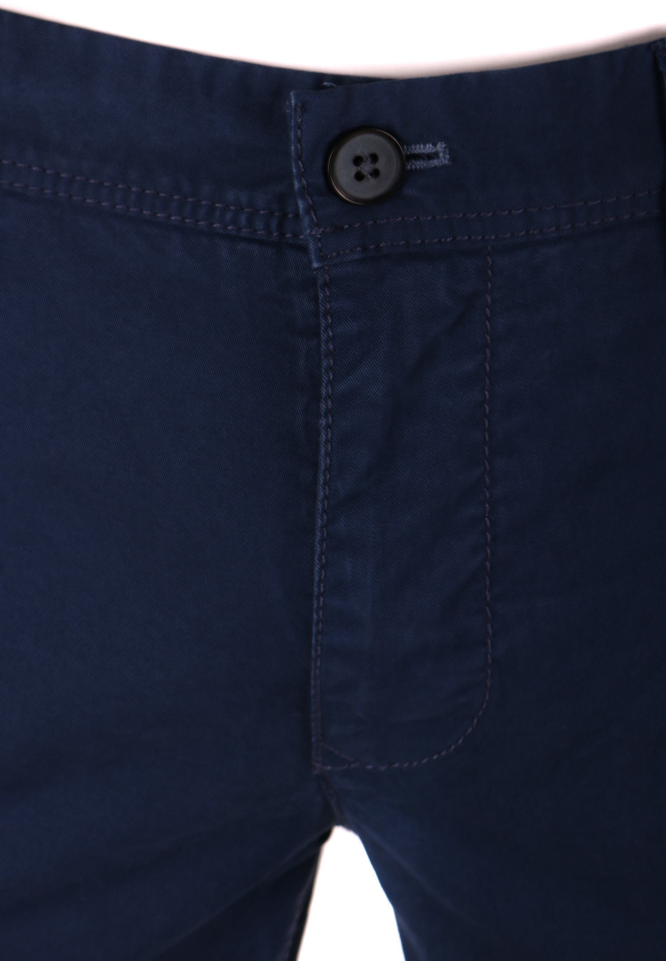 Suitable Chino Broek Dark Blue foto 3