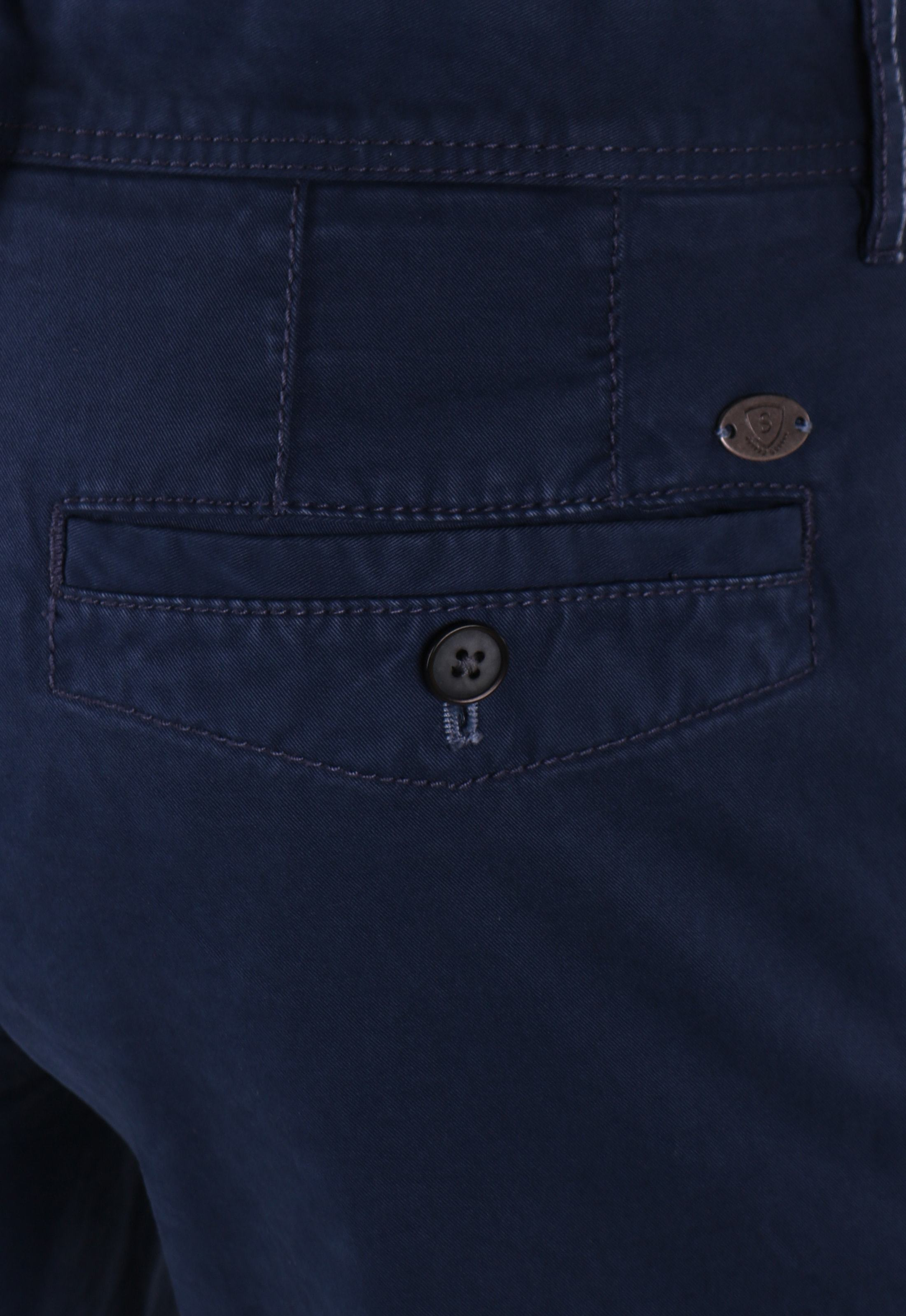 Suitable Chino Broek Dark Blue foto 4