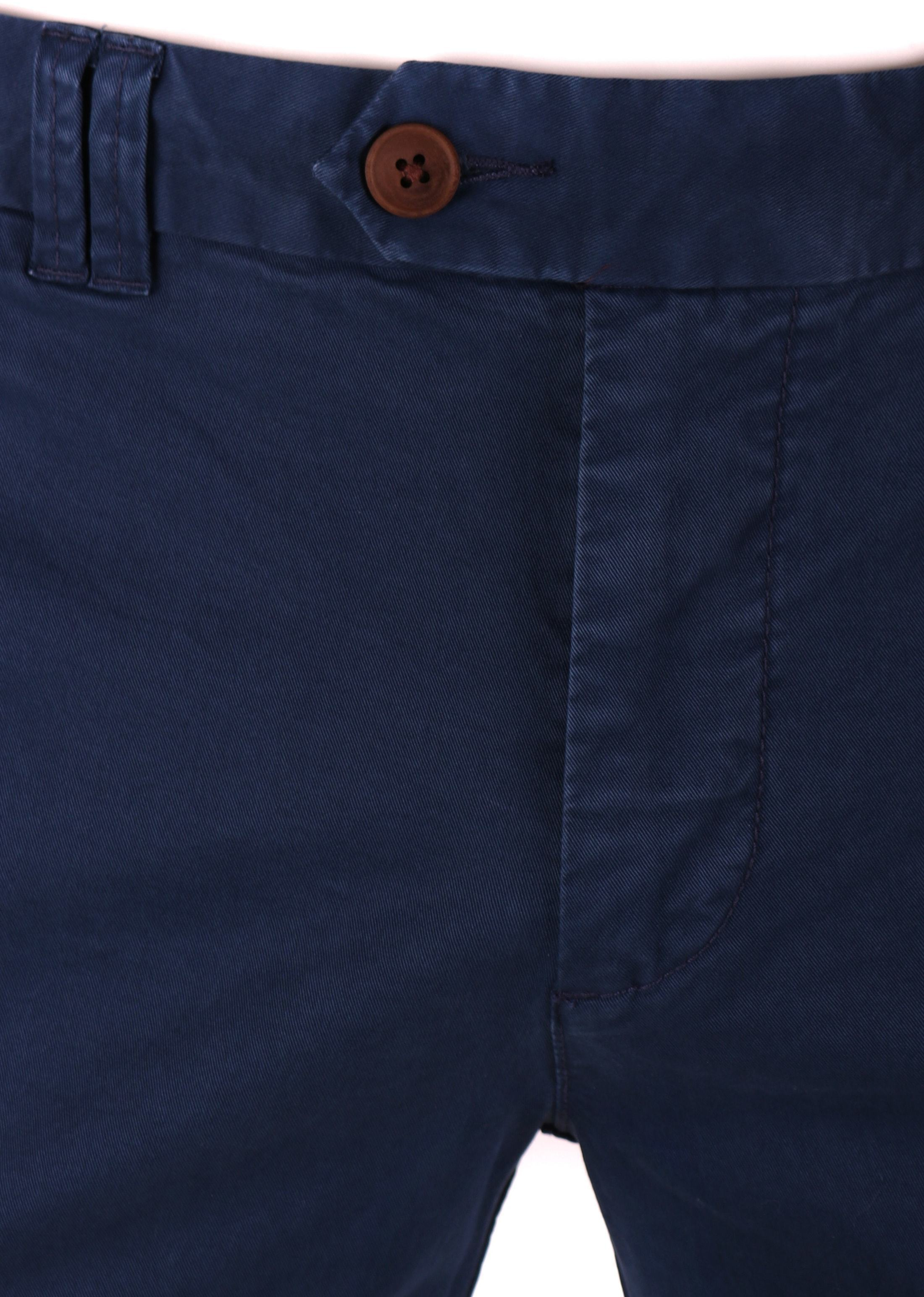Suitable Chino Broek Donkerblauw foto 2
