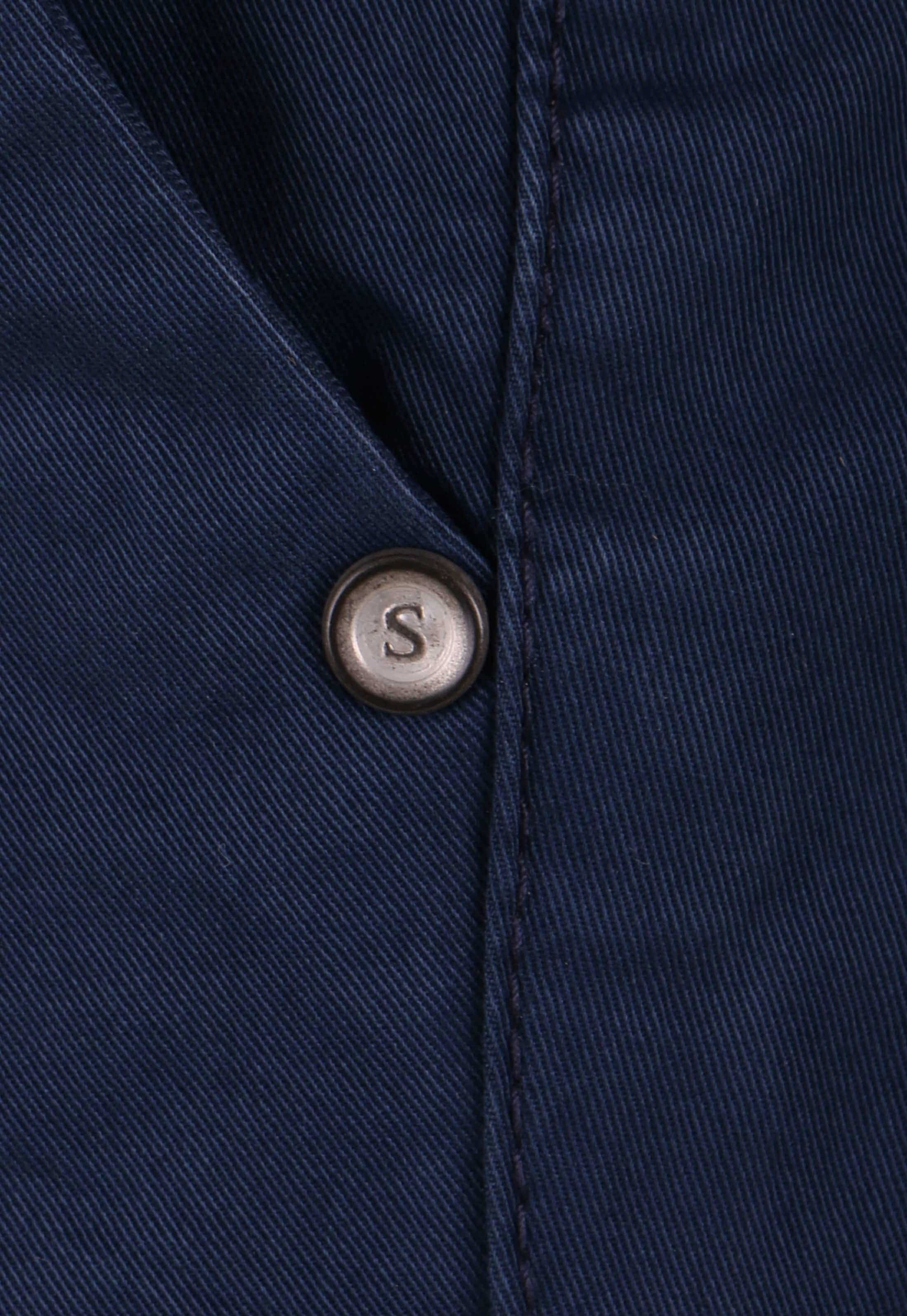 Suitable Chino Broek Donkerblauw foto 3