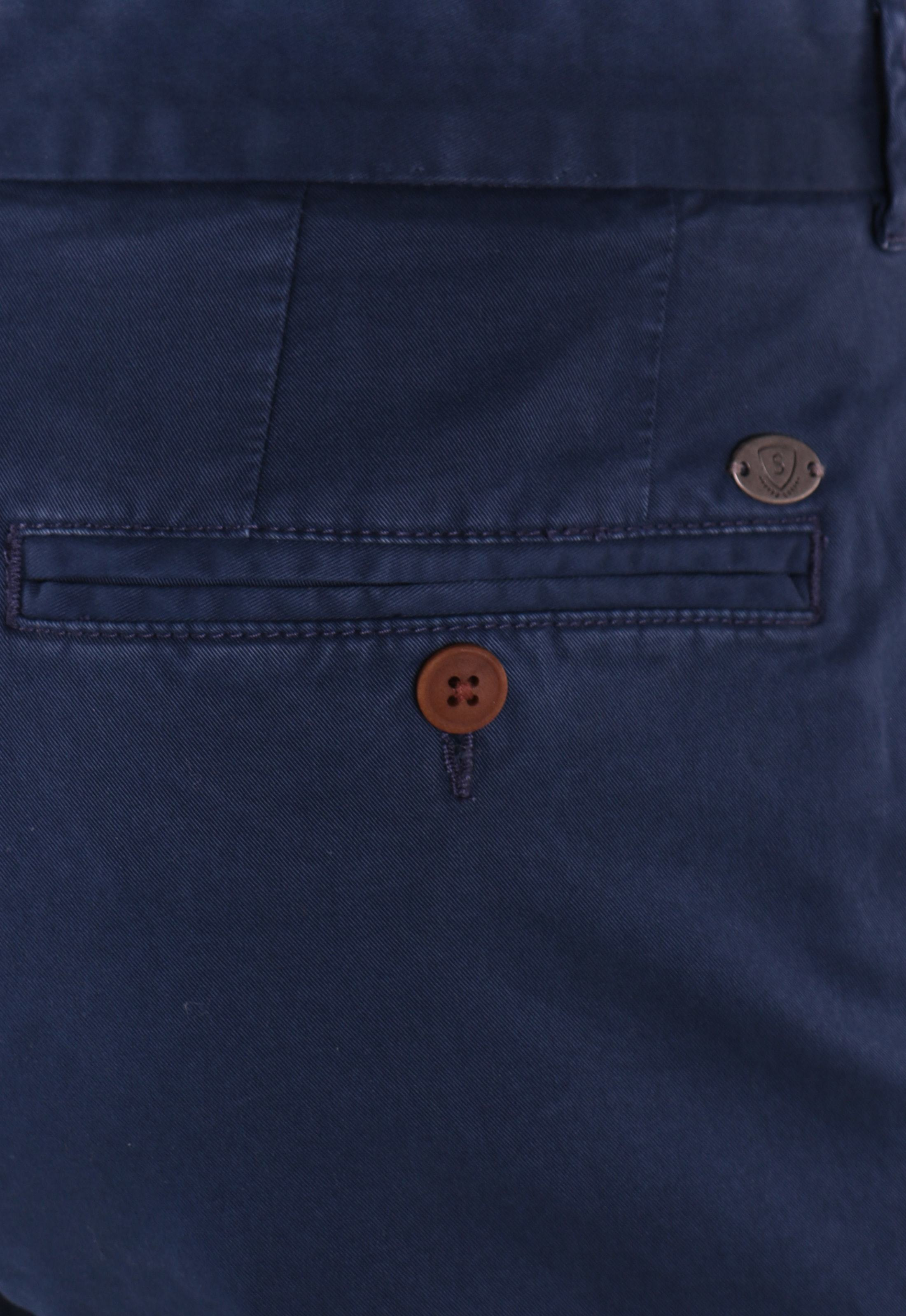 Suitable Chino Broek Donkerblauw foto 4
