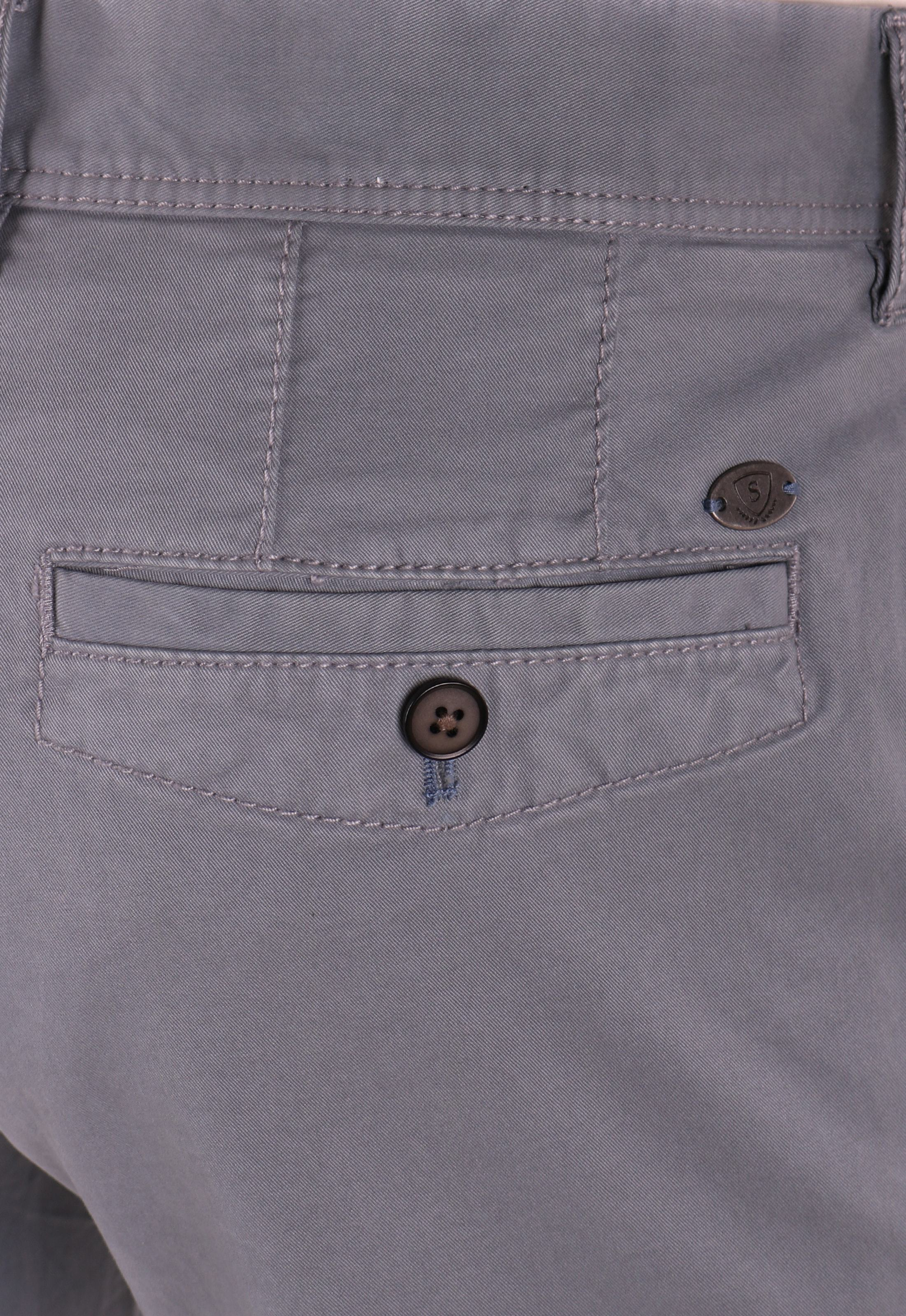 Suitable Chino Broek Grijs foto 4