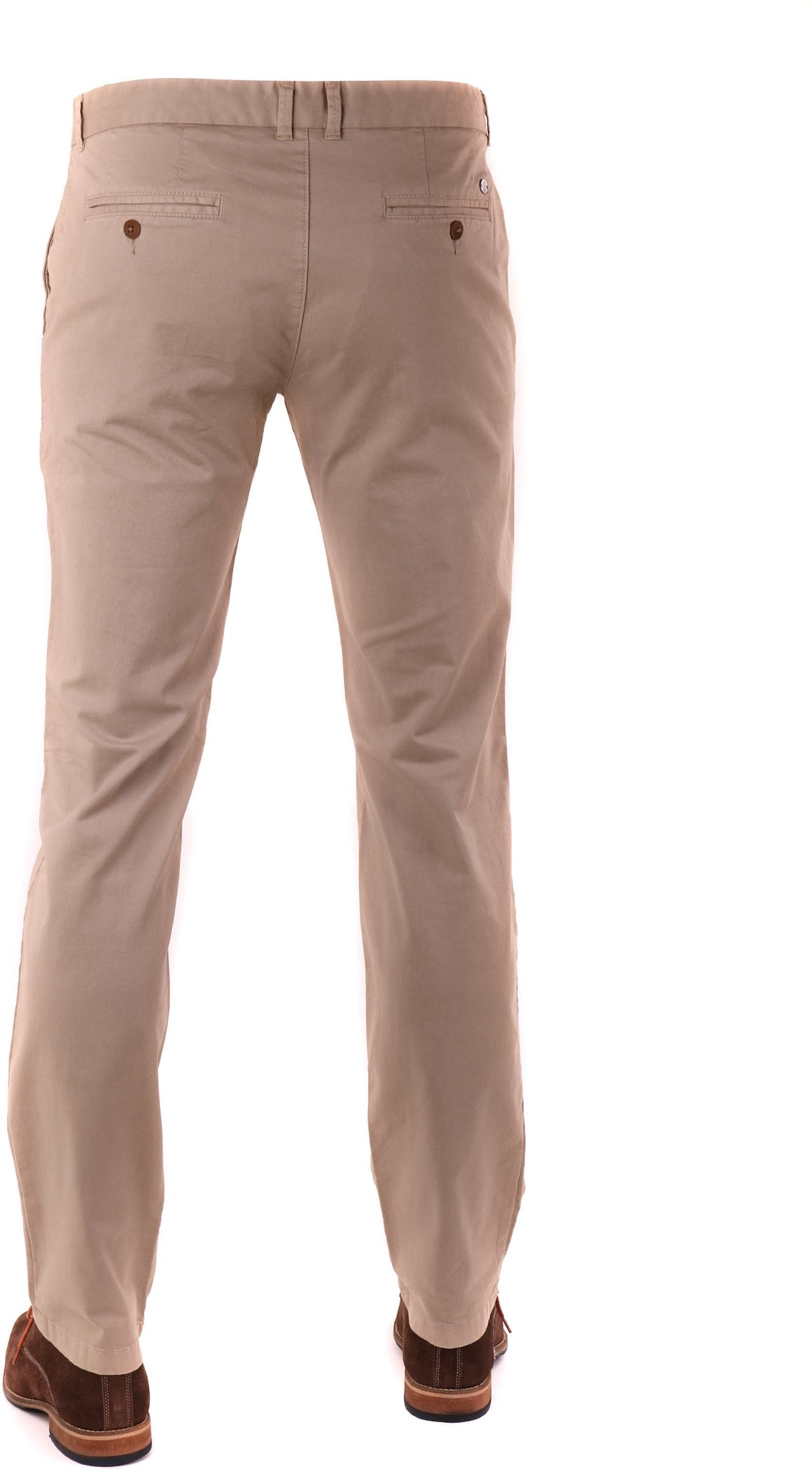 Suitable Chino Broek Khaki foto 1