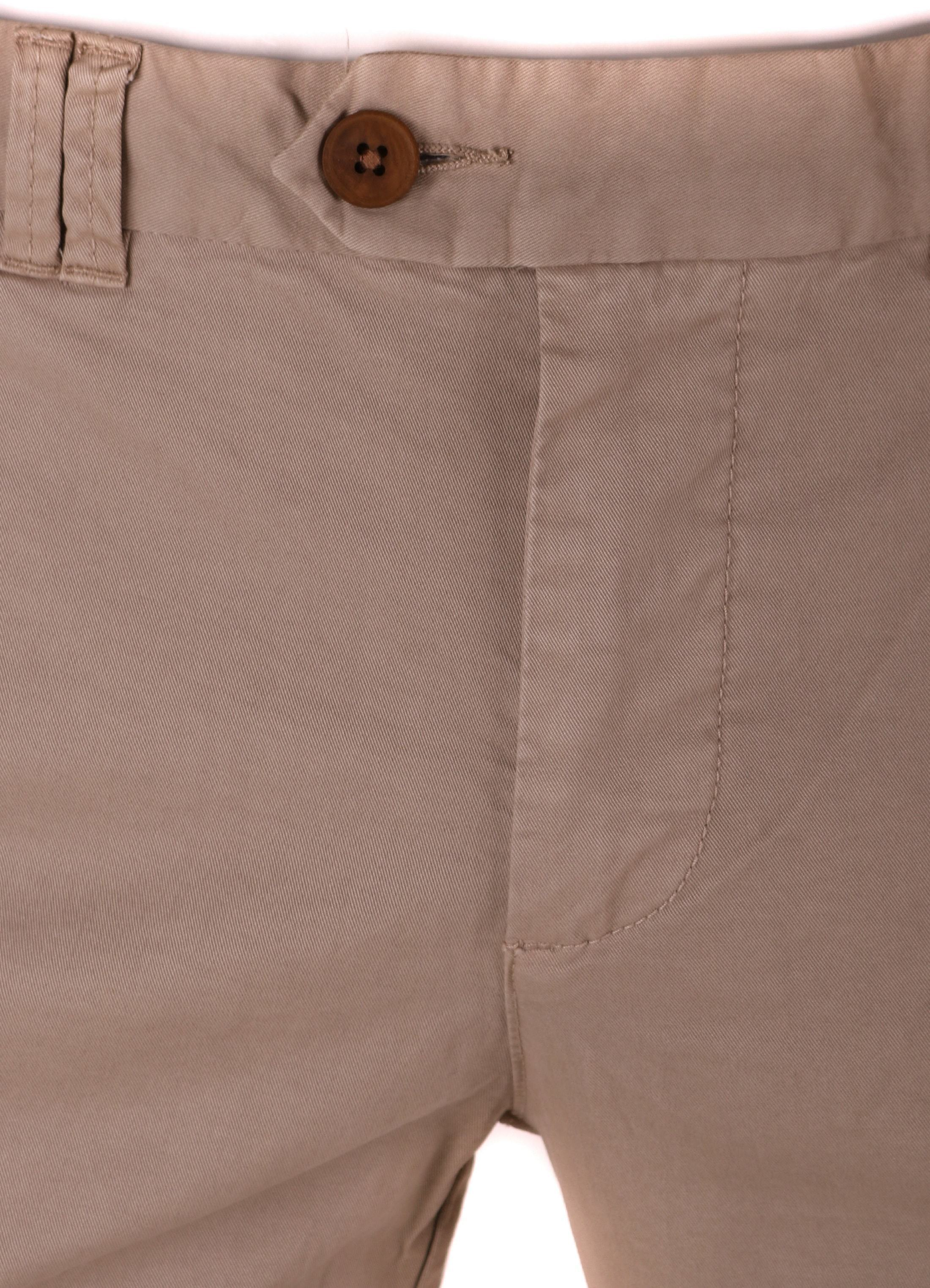 Suitable Chino Broek Khaki foto 2