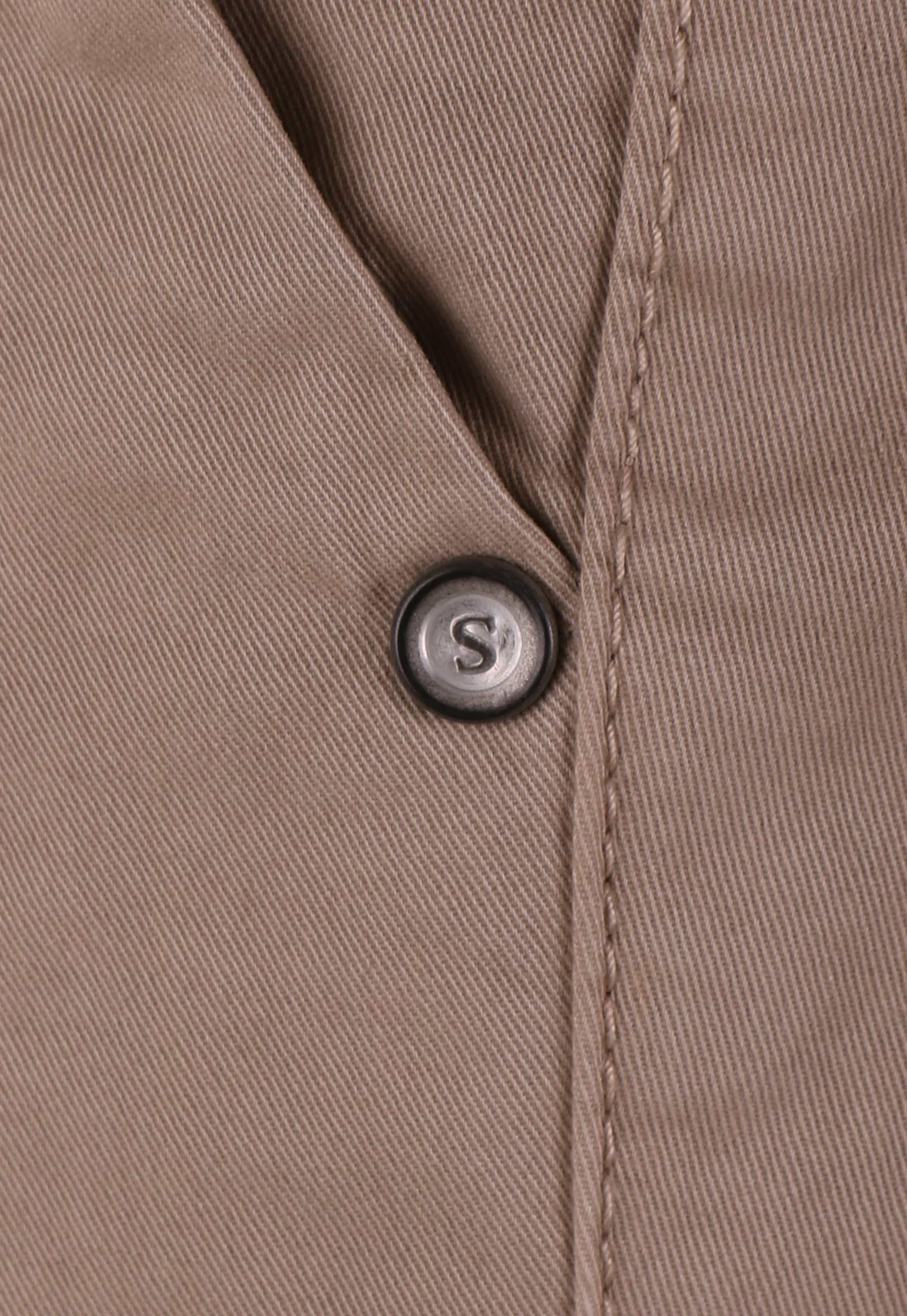 Suitable Chino Broek Khaki foto 3
