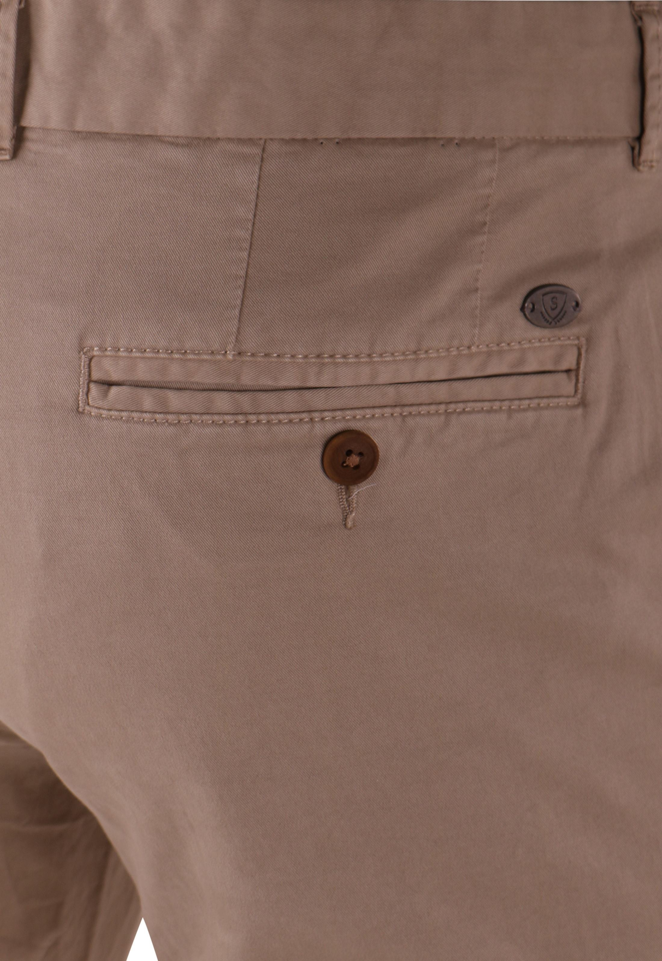 Suitable Chino Broek Khaki foto 4