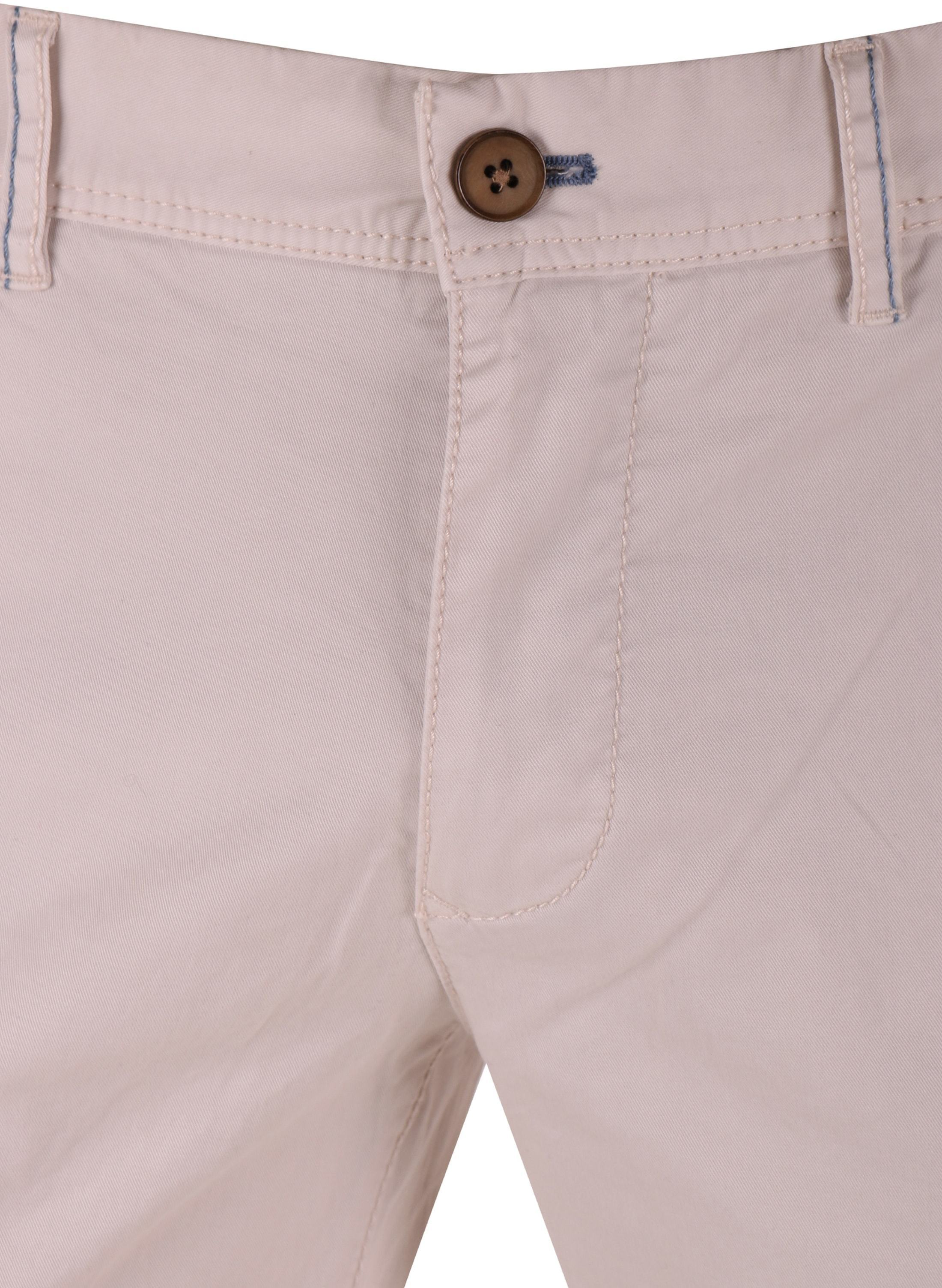 Suitable Chino Broek Off-white foto 3
