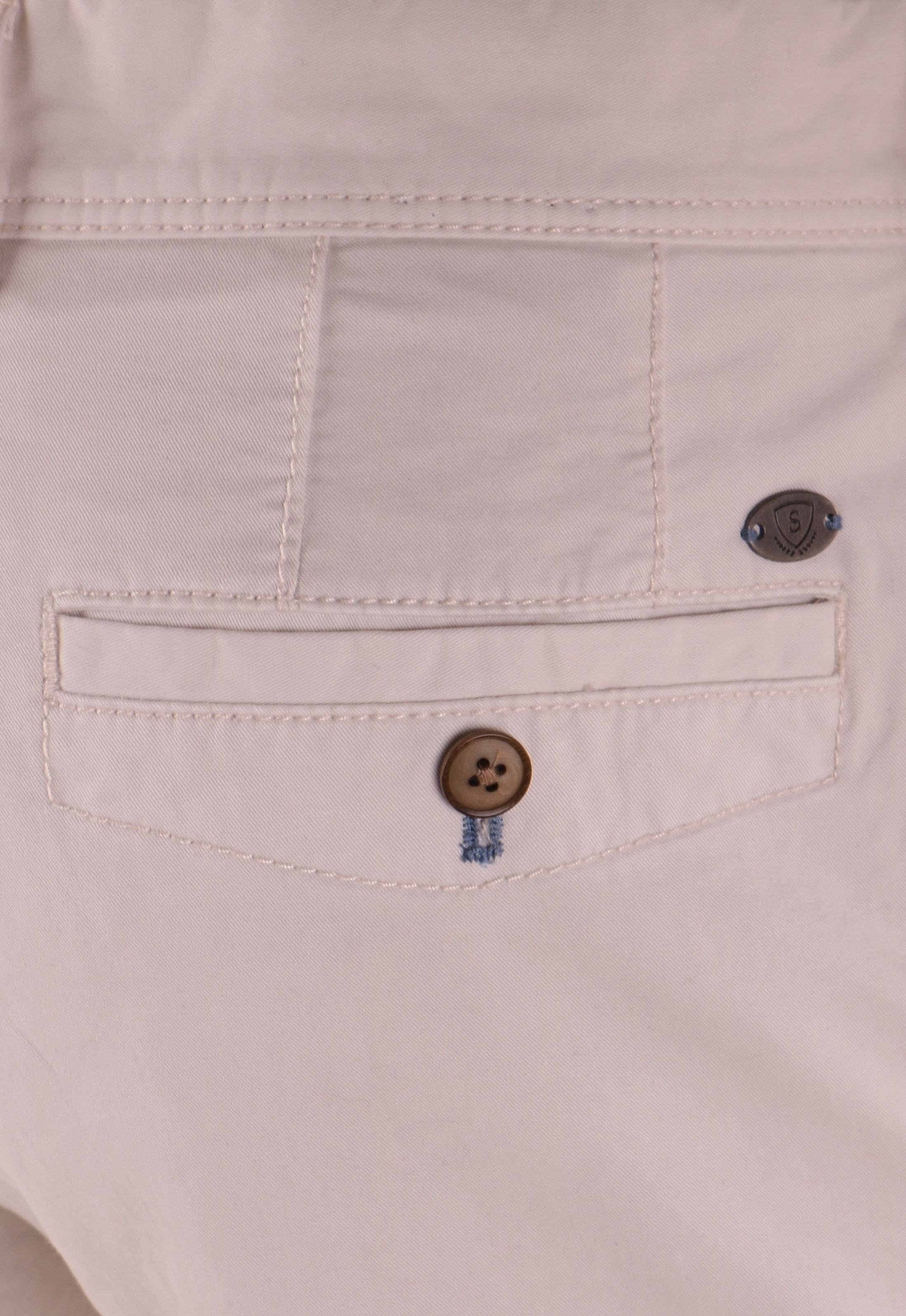 Suitable Chino Broek Off-white foto 4
