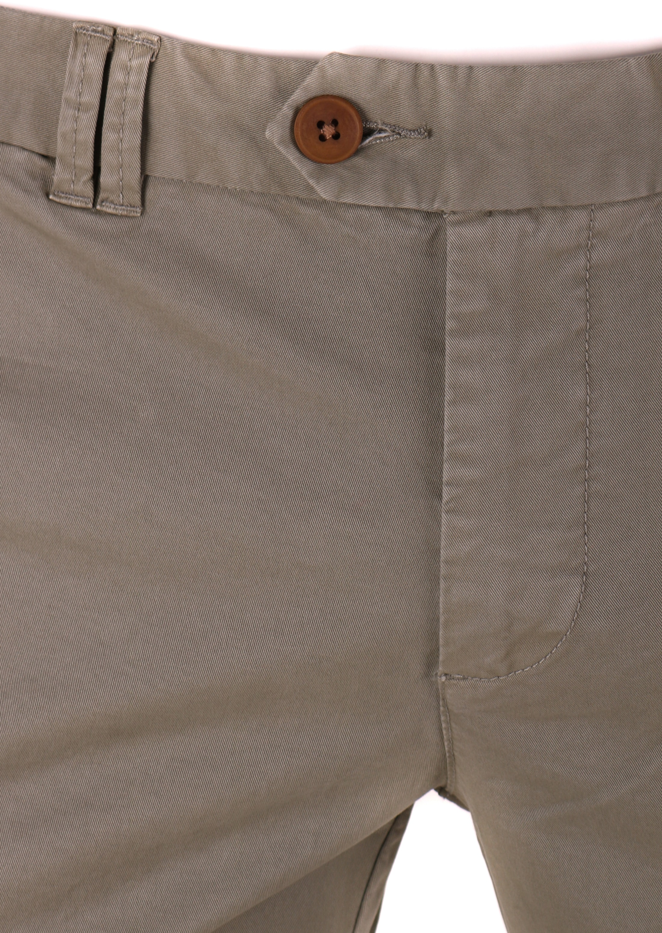 Suitable Chino Broek Olijfgroen foto 2